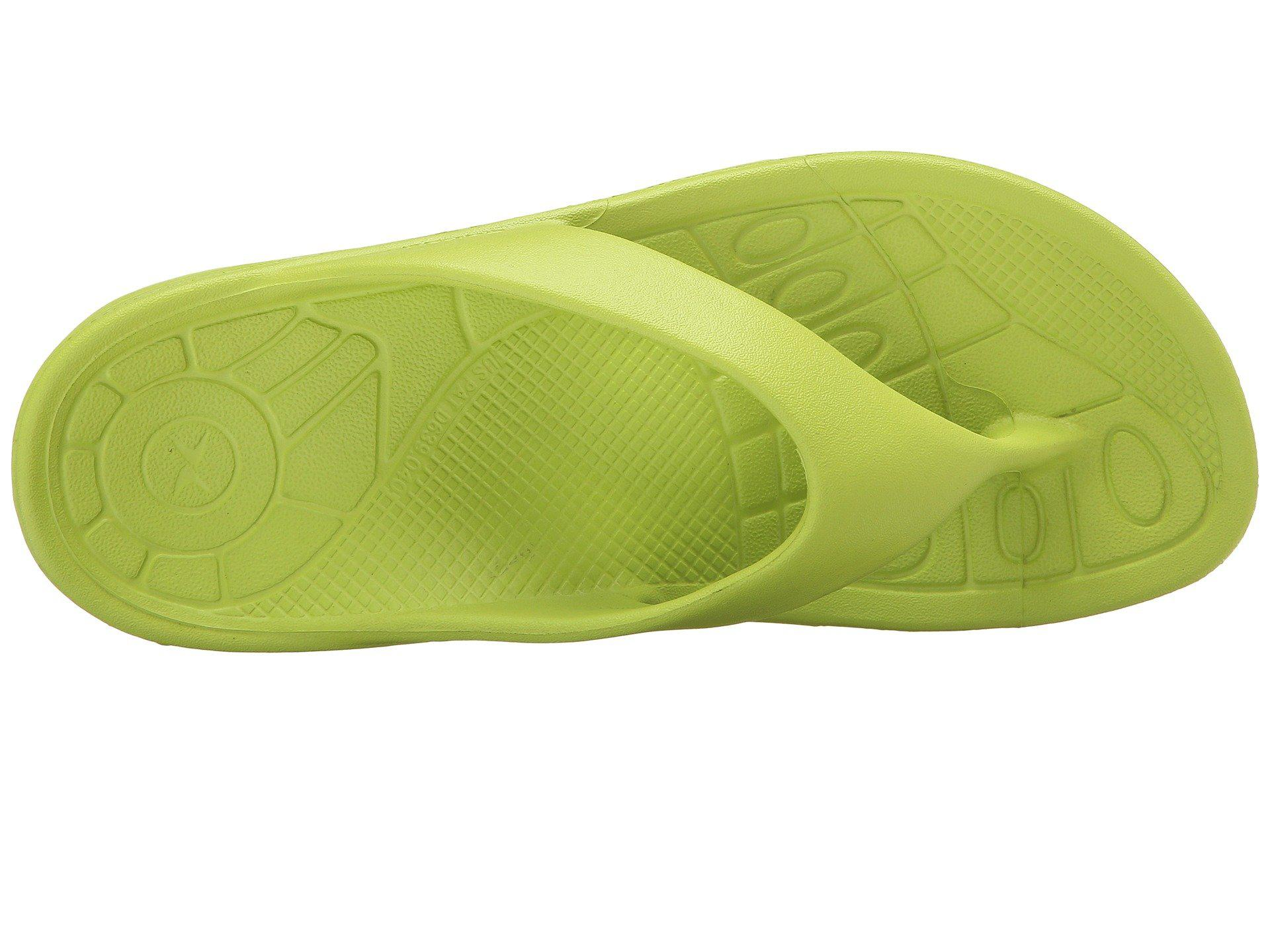 4234a67652d4 Aetrex - Green Lynco Flip (grey) Women s Sandals - Lyst. View fullscreen
