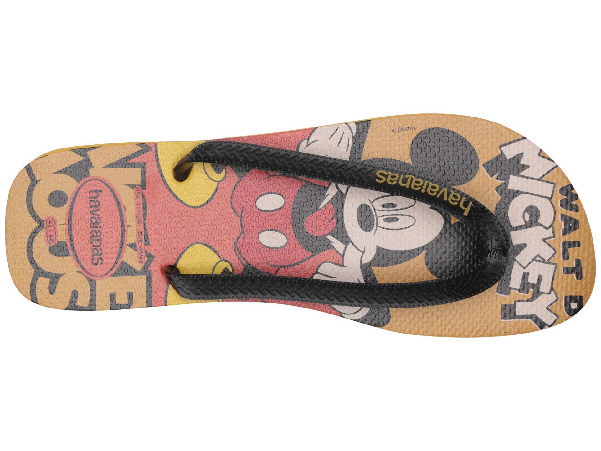 2b8433e5d864 Havaianas - Multicolor Disney Stylish Flip Flops (mustard) Men s Sandals  for Men - Lyst. View fullscreen