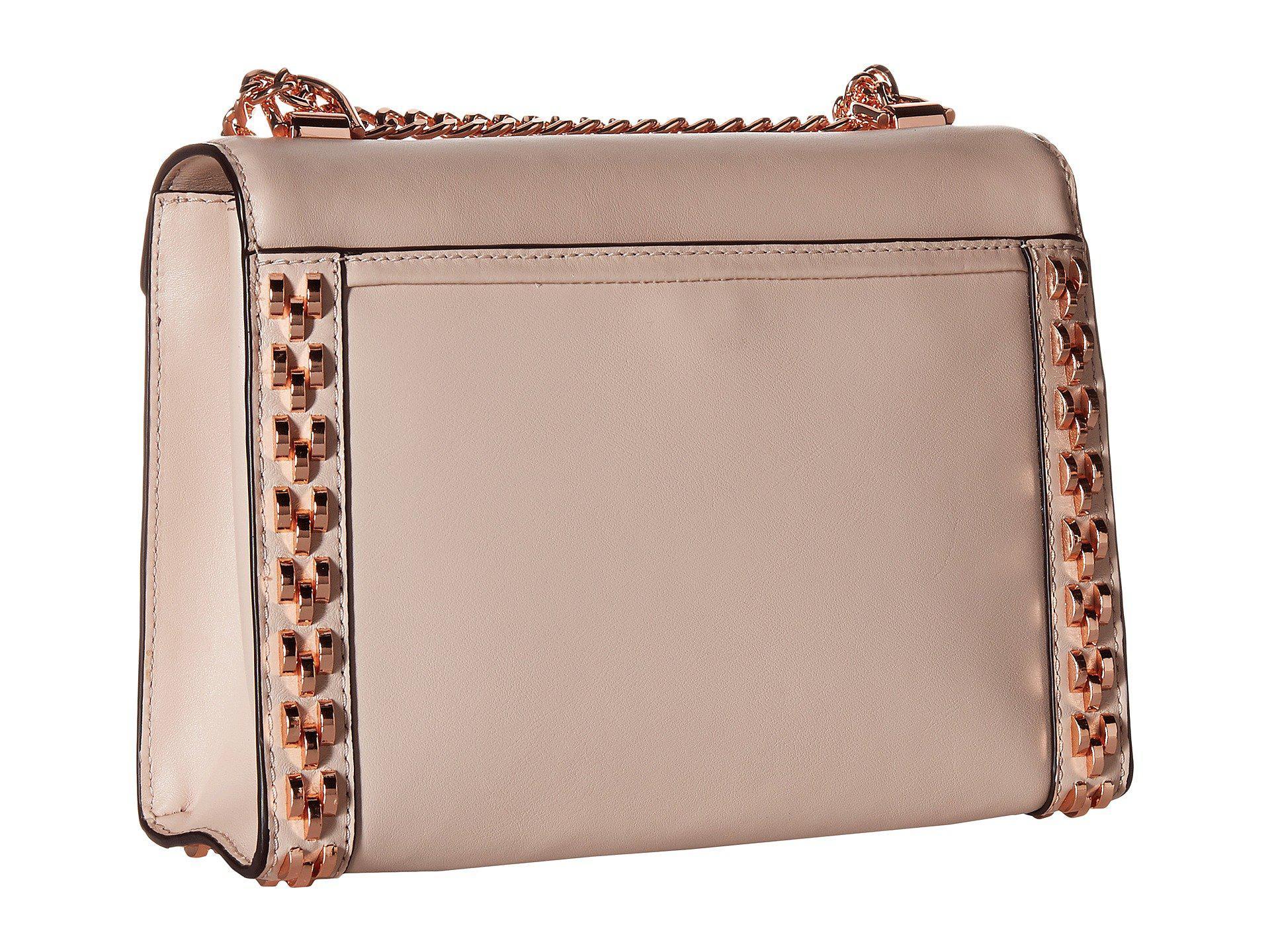 acbf91ecb5a3 ... australia michael michael kors whitney large shoulder soft pink  shoulder handbags lyst. view fullscreen e4395