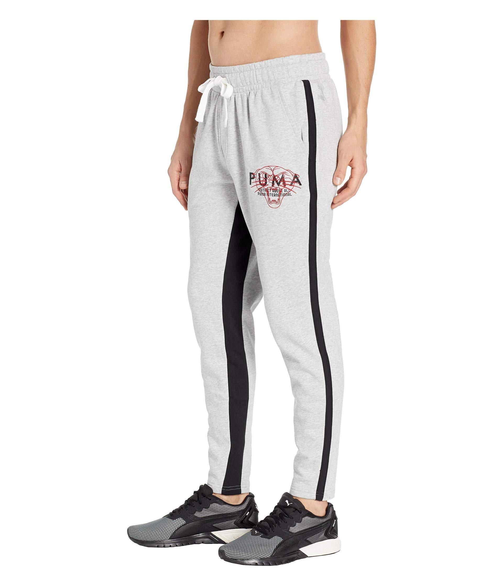 638a74e6f9ec Lyst - PUMA Last Dayz Sweatpants (light Gray Heather  Black) Men s Casual  Pants in Gray for Men