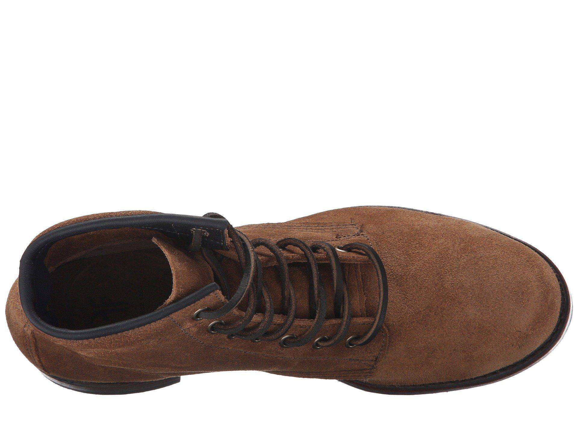 ec91ff39458 Frye - Multicolor John Addison Lace-up (tan Smooth Pull-up Leather). View  fullscreen