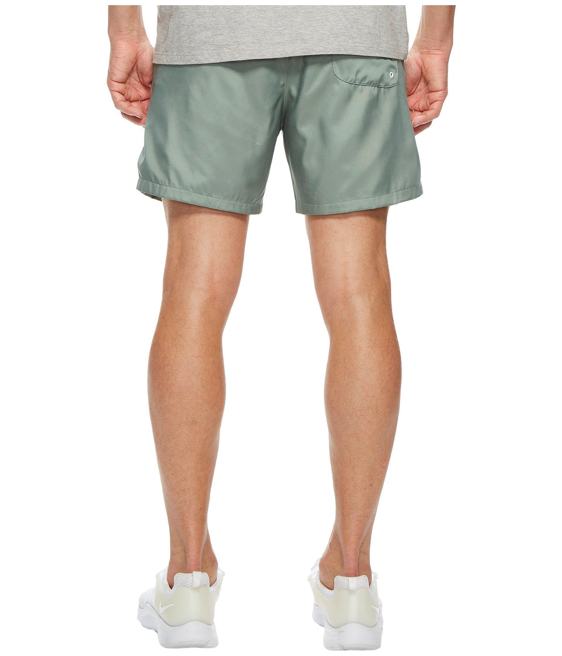 bf1784f1b7 Nike Woven Flow Short in Green for Men - Lyst