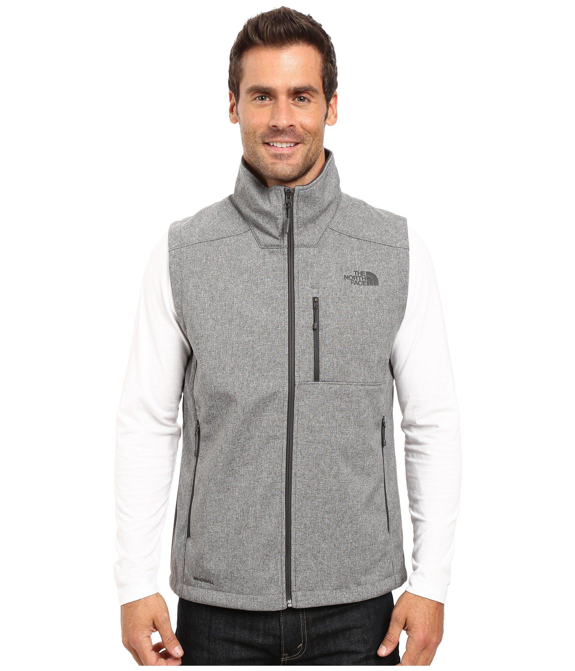 The North Face. Gray Apex Bionic 2 Vest (tnf Medium Grey Heather) Men s Vest 529389b7c