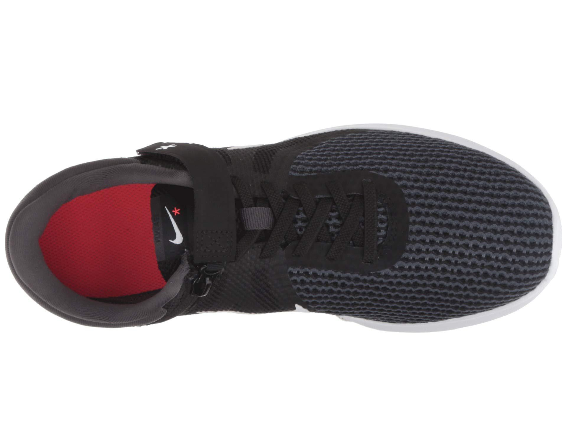 2e0050f5da10 Lyst - Nike Revolution 4 Flyease (black white anthracite solar Red ...