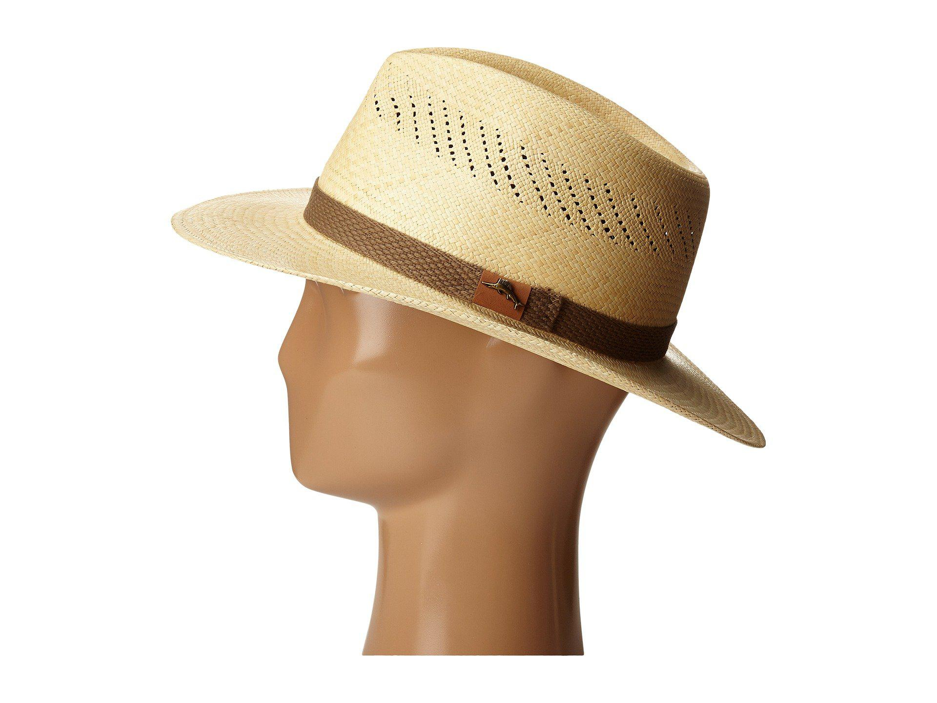 bcfb745d799 Lyst - Tommy Bahama Panama Vent Outback (natural) Caps in Natural ...