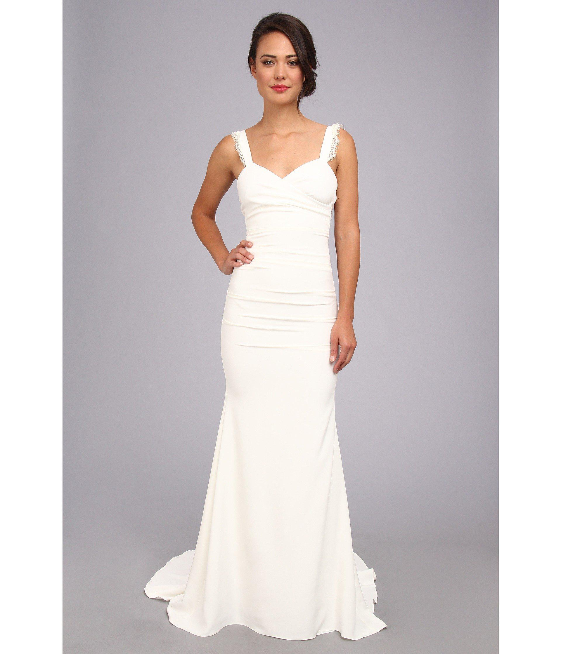 Old Fashioned Nicole Miller Dakota Bridal Gown Ornament - Top ...