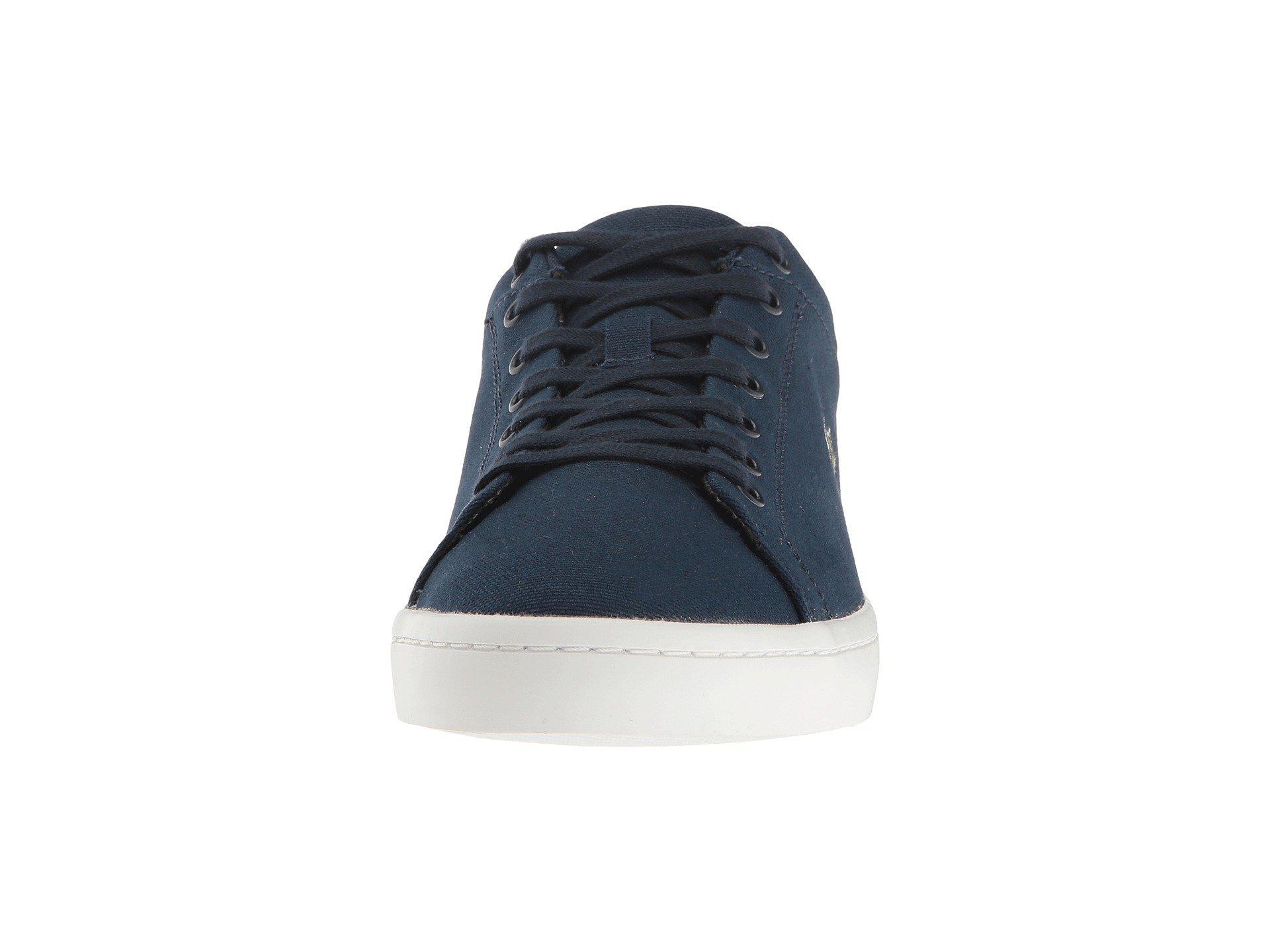 1e2fa1bea596 Lacoste - Blue Straightset Bl 2 Sneaker - Lyst. View fullscreen