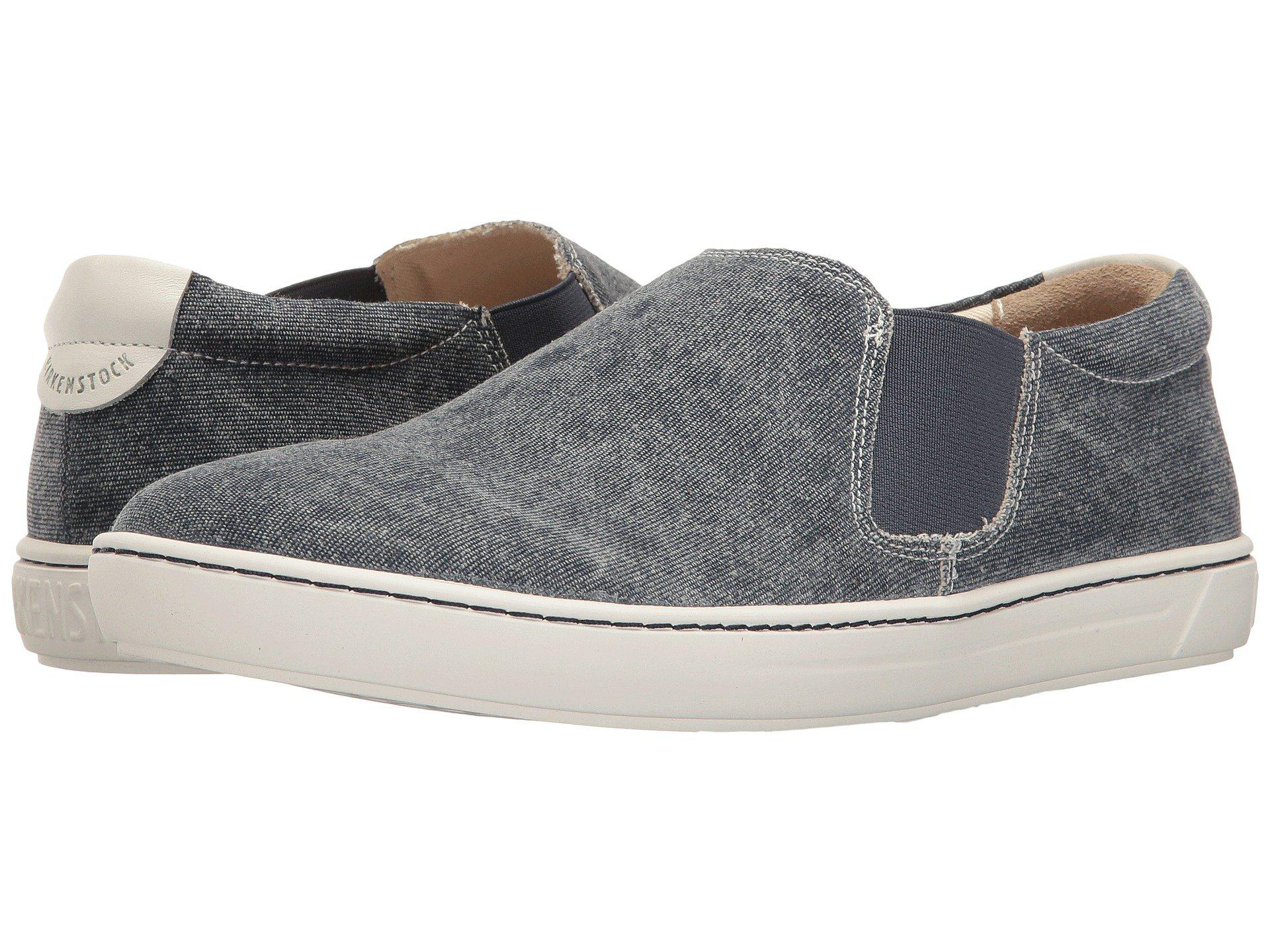 26cc908e44d3 Lyst - Birkenstock Barrie (sand Canvas) Women s Shoes in Blue