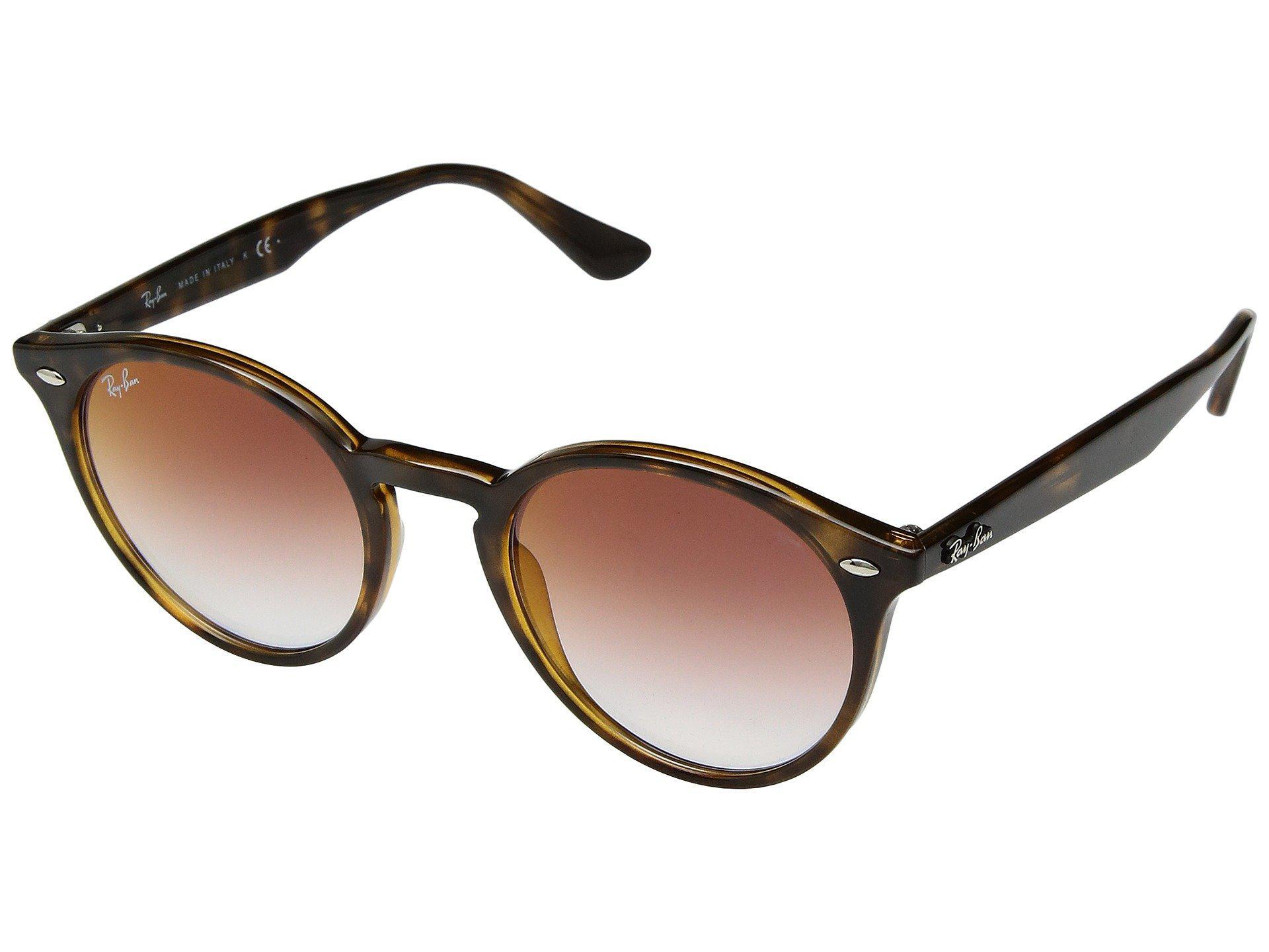 f81f9090e4 Ray-Ban. Women s Rb2180 51mm (havana light Red Gradient Mirror) Fashion  Sunglasses