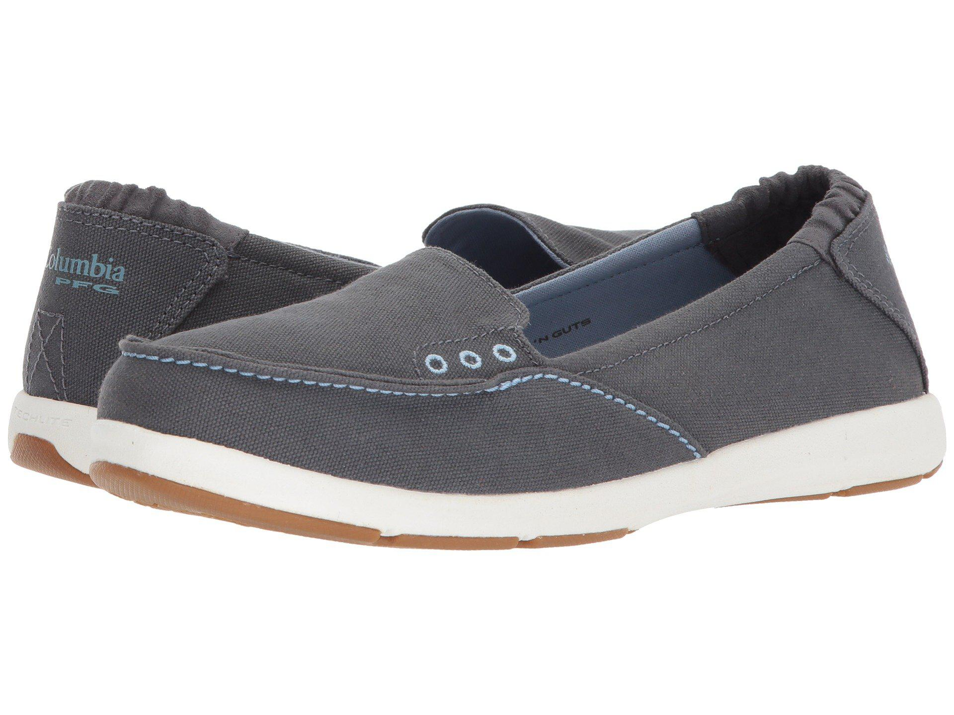 Lyst Columbia Delray Slip Pfg Graphite Dark Mirage Women S Shoes