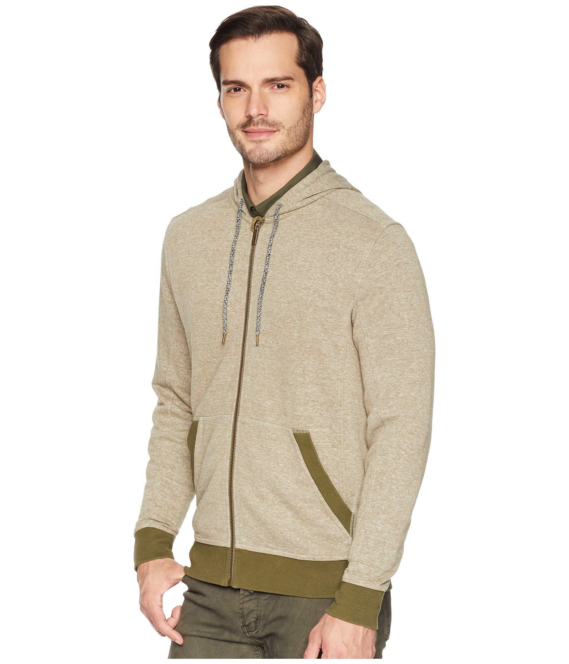 67dc5d54de86a Toad&Co Epique Full Zip Hoodie (rustic Olive) Men's Sweatshirt in ...