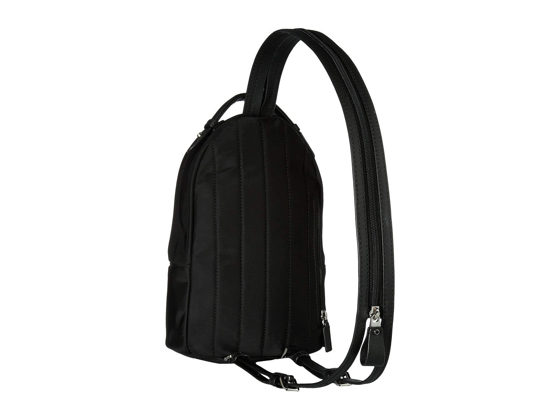 570812013c74b9 MICHAEL Michael Kors - Nylon Kelsey Sling Pack (black) Bags - Lyst. View  fullscreen