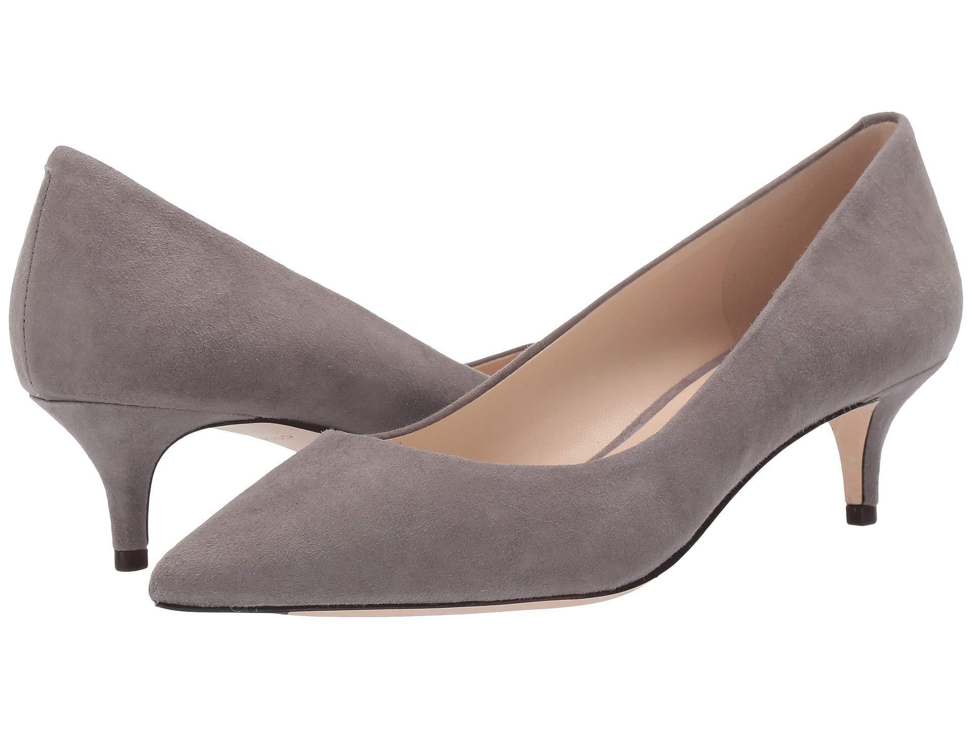 3aa2888d2f0c Lyst - Cole Haan Vesta Pump (45mm) (stormcloud Suede) Women s Shoes ...