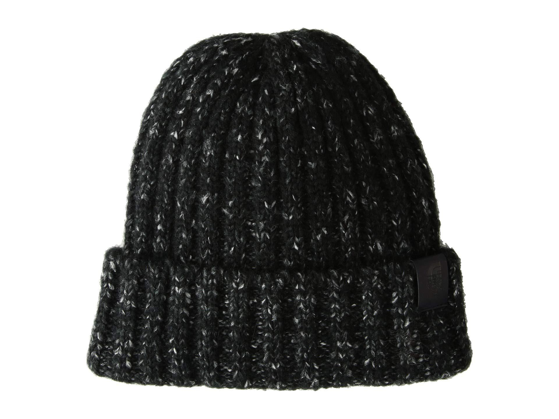 a0ac15eae6c Lyst - The North Face Chunky Rib Beanie (tnf Black) Beanies in Black