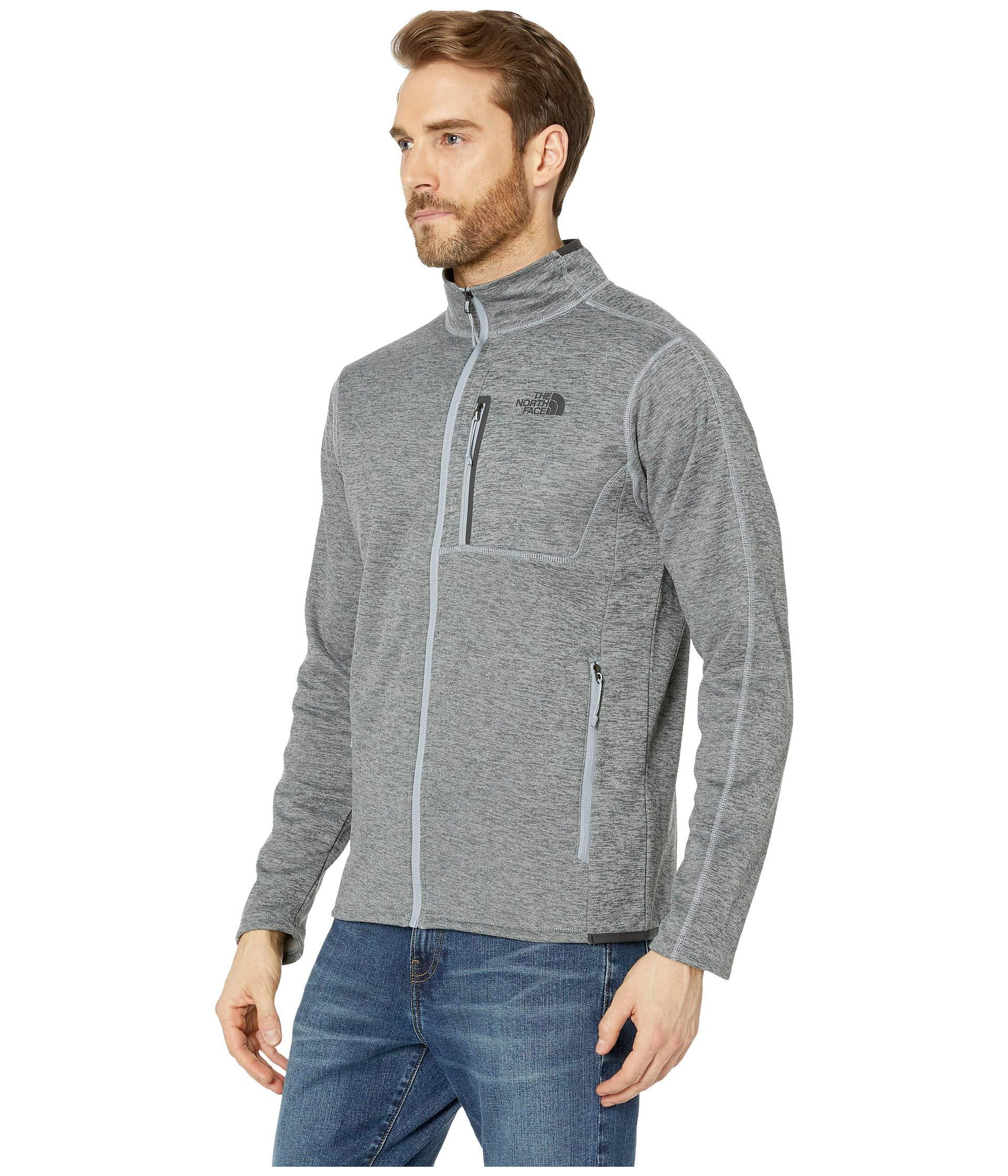 6a00632e63a2 Lyst - The North Face Canyonlands Full Zip (urban Navy Heather 2) Men s  Coat in Gray for Men
