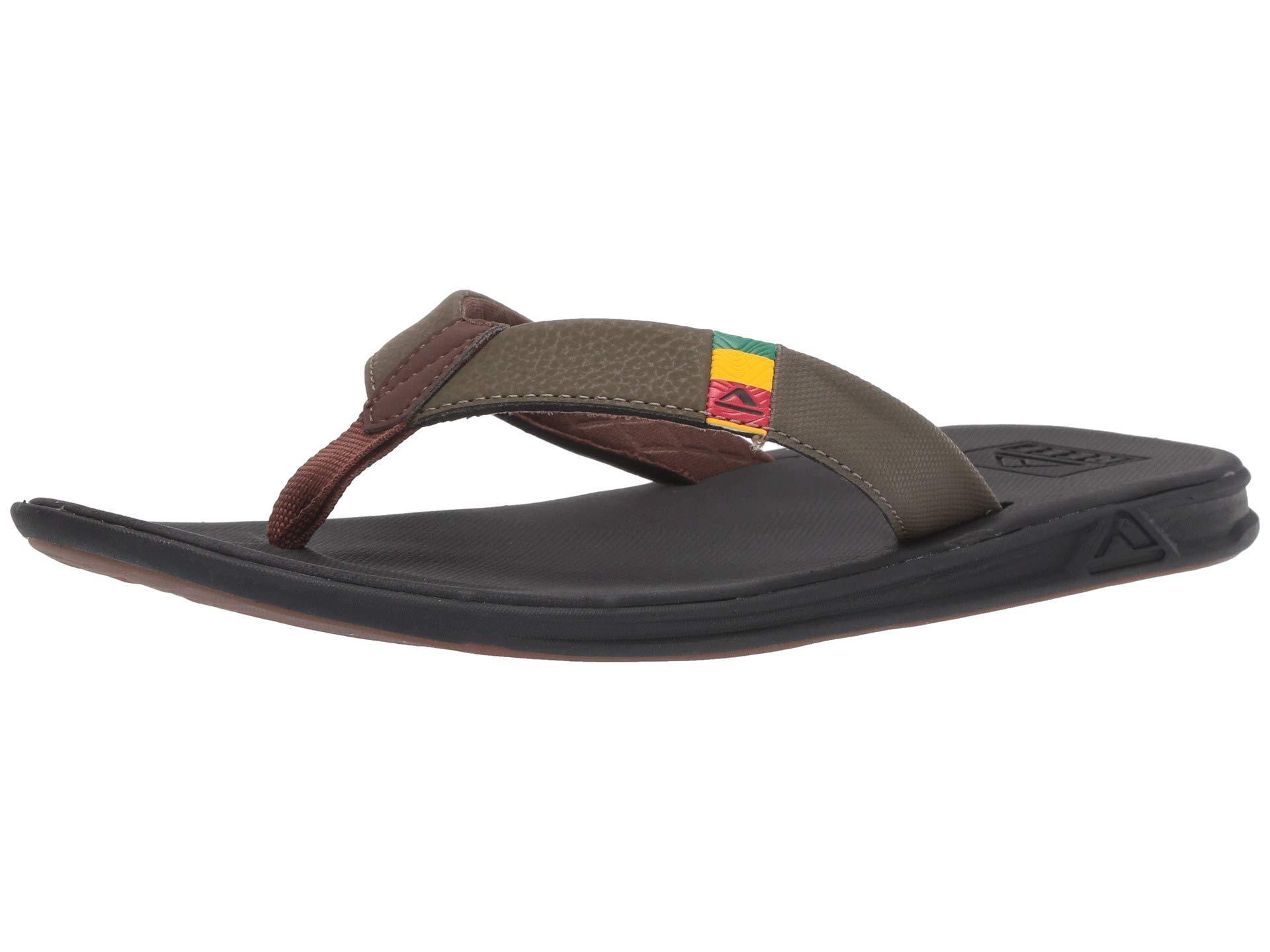 8eeb32768bfc Lyst - Reef Slammed Rover (black tan) Men s Sandals for Men
