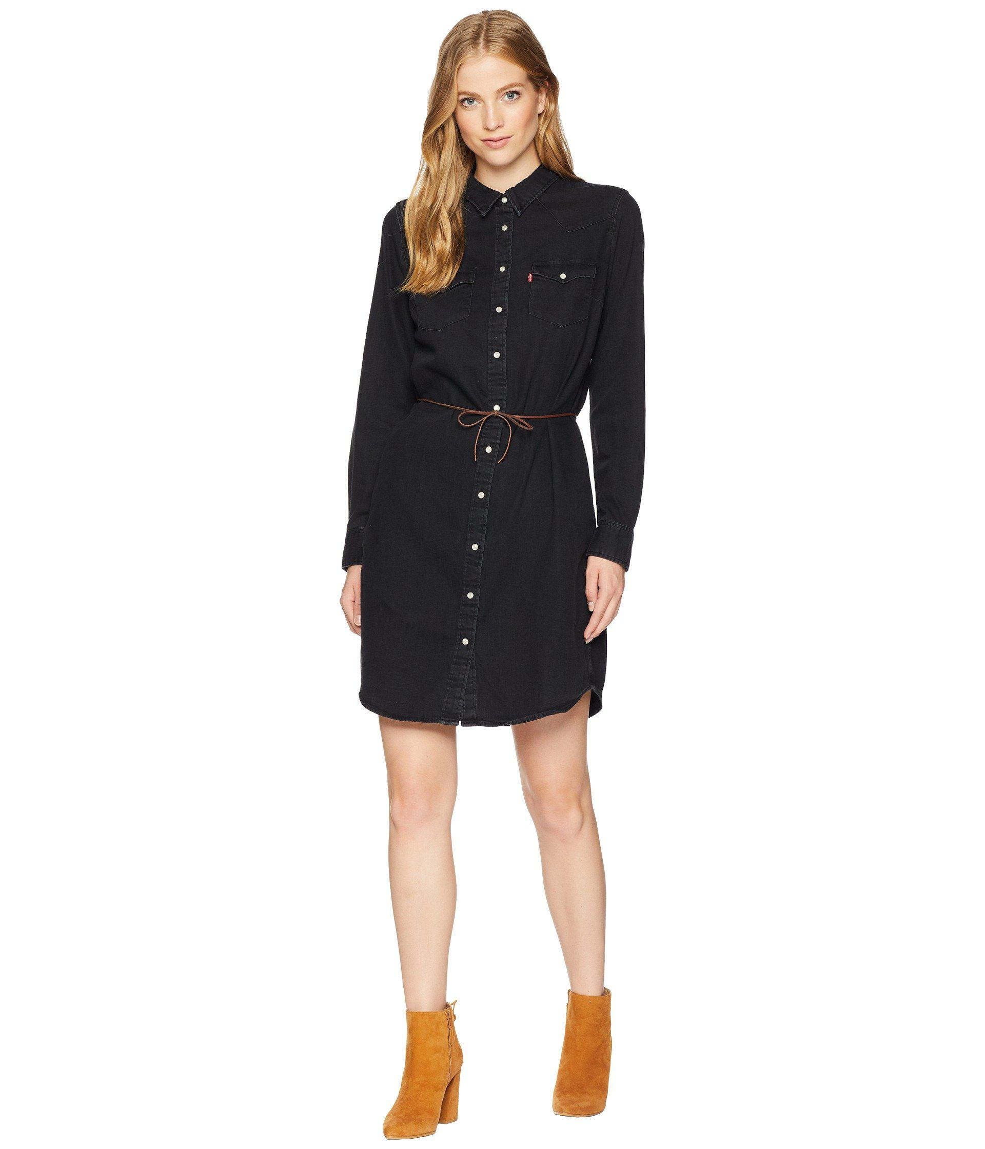 d275f176cb Levi s - Black Ultimate Western Dress - Lyst. View fullscreen