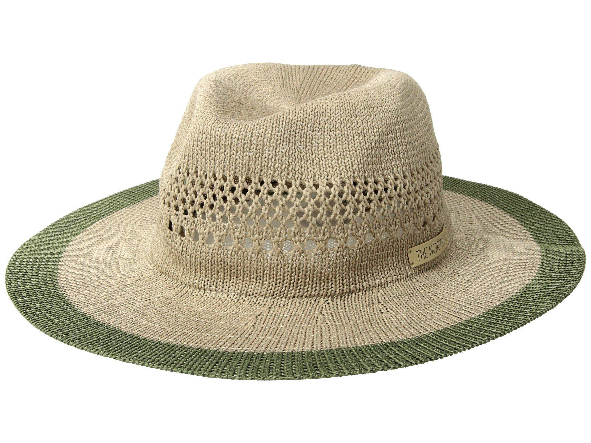 2dd6de7c601 The North Face - Multicolor Packable Panama Hat (kelp Tan four Leaf  Clover). View fullscreen