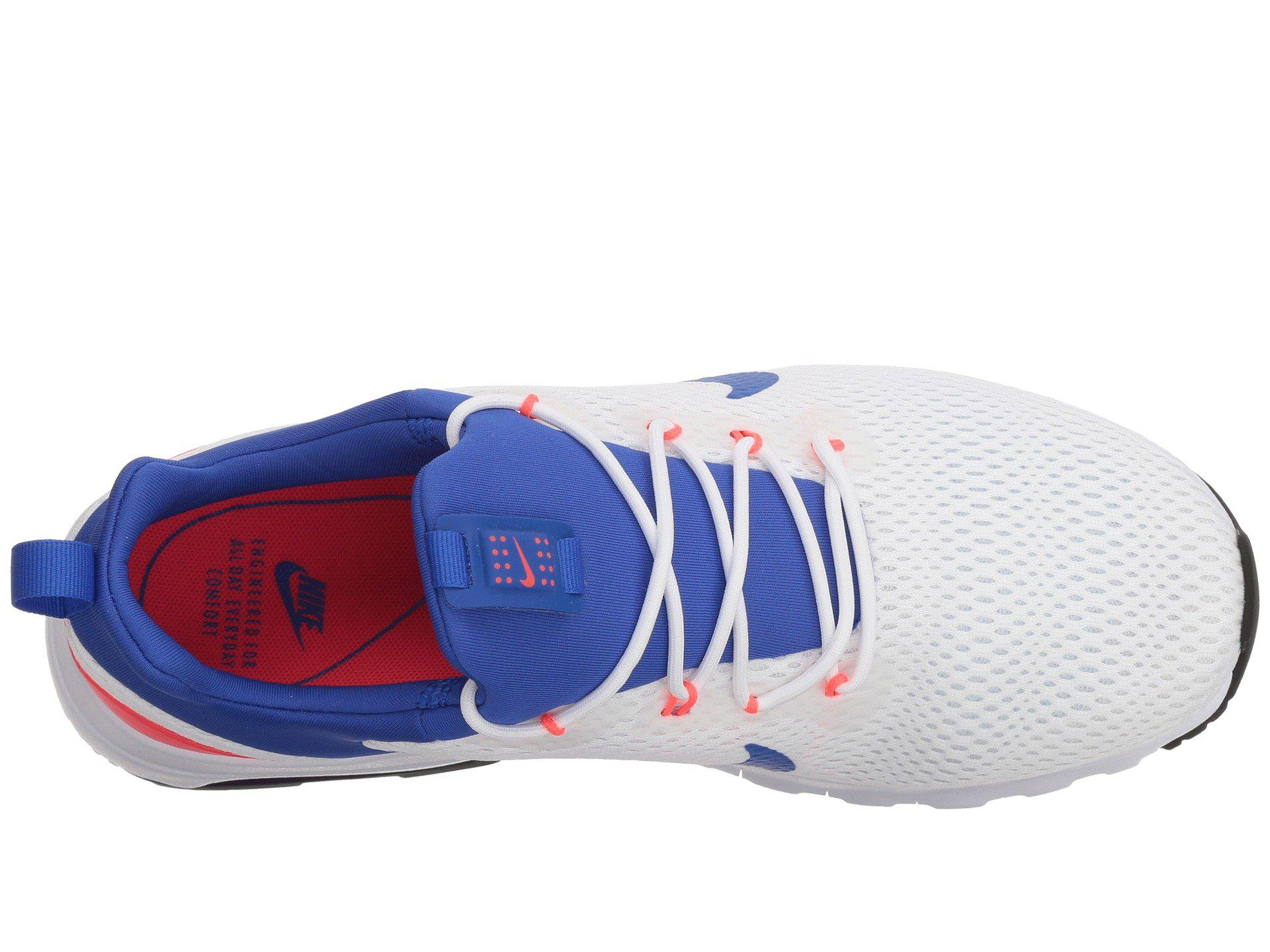 893a7849eefe Lyst - Nike Air Max Motion Lw Racer (white ultramarine solar Red ...