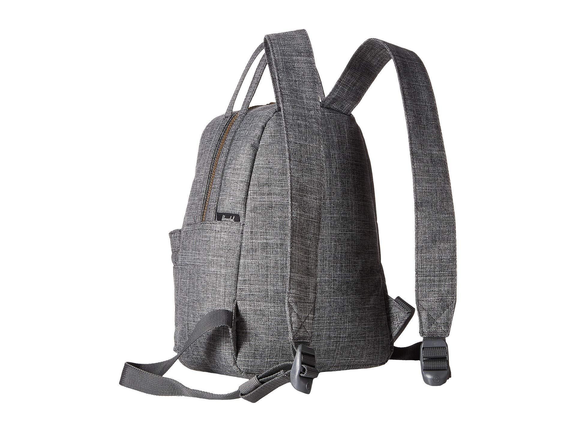 11e6ce01968 Lyst - Herschel Supply Co. Nova Mini (black Crosshatch) Backpack ...