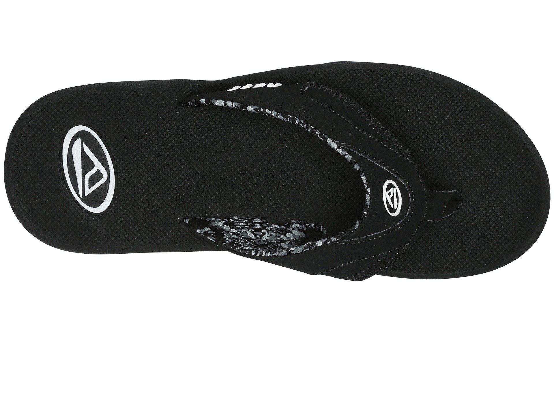 352c4d7be350cf Reef - Fanning W (black mint) Women s Sandals - Lyst. View fullscreen