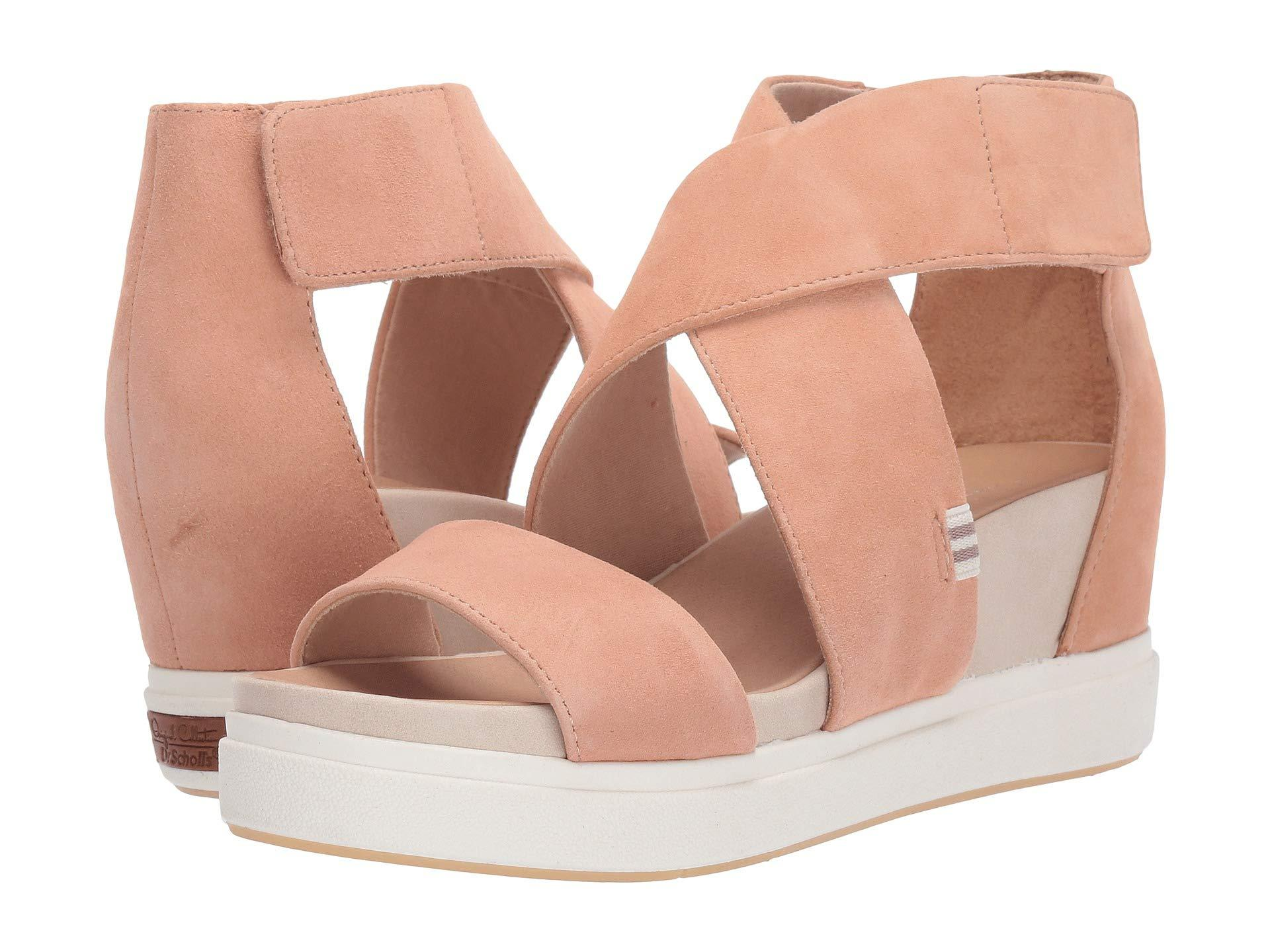 0d918cb8d334 Dr. Scholls. Pink Scout High - Original Collection (white Leather) Women s  Shoes