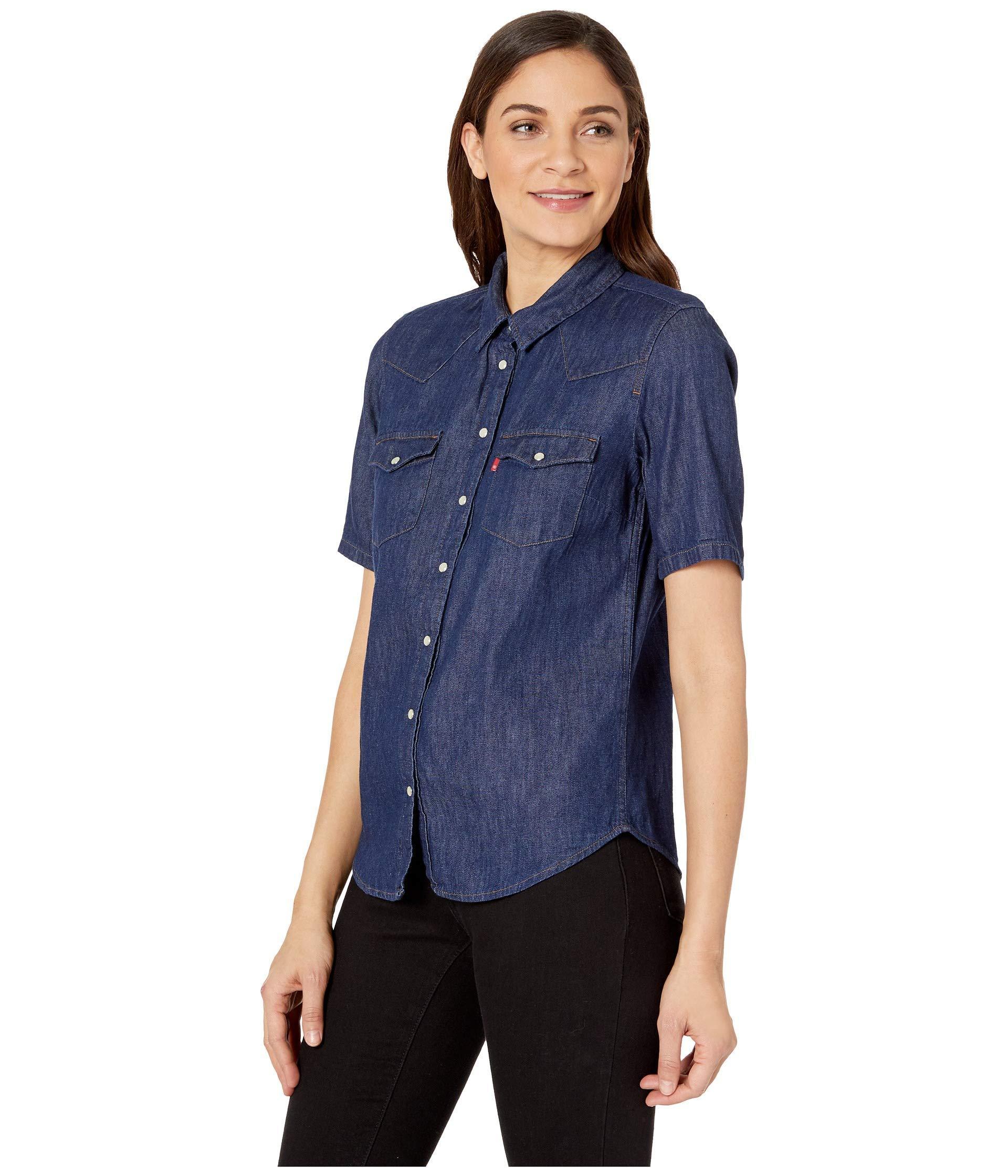Womens Shirt Short Dreamworks Sleeve Western dCrxeBo