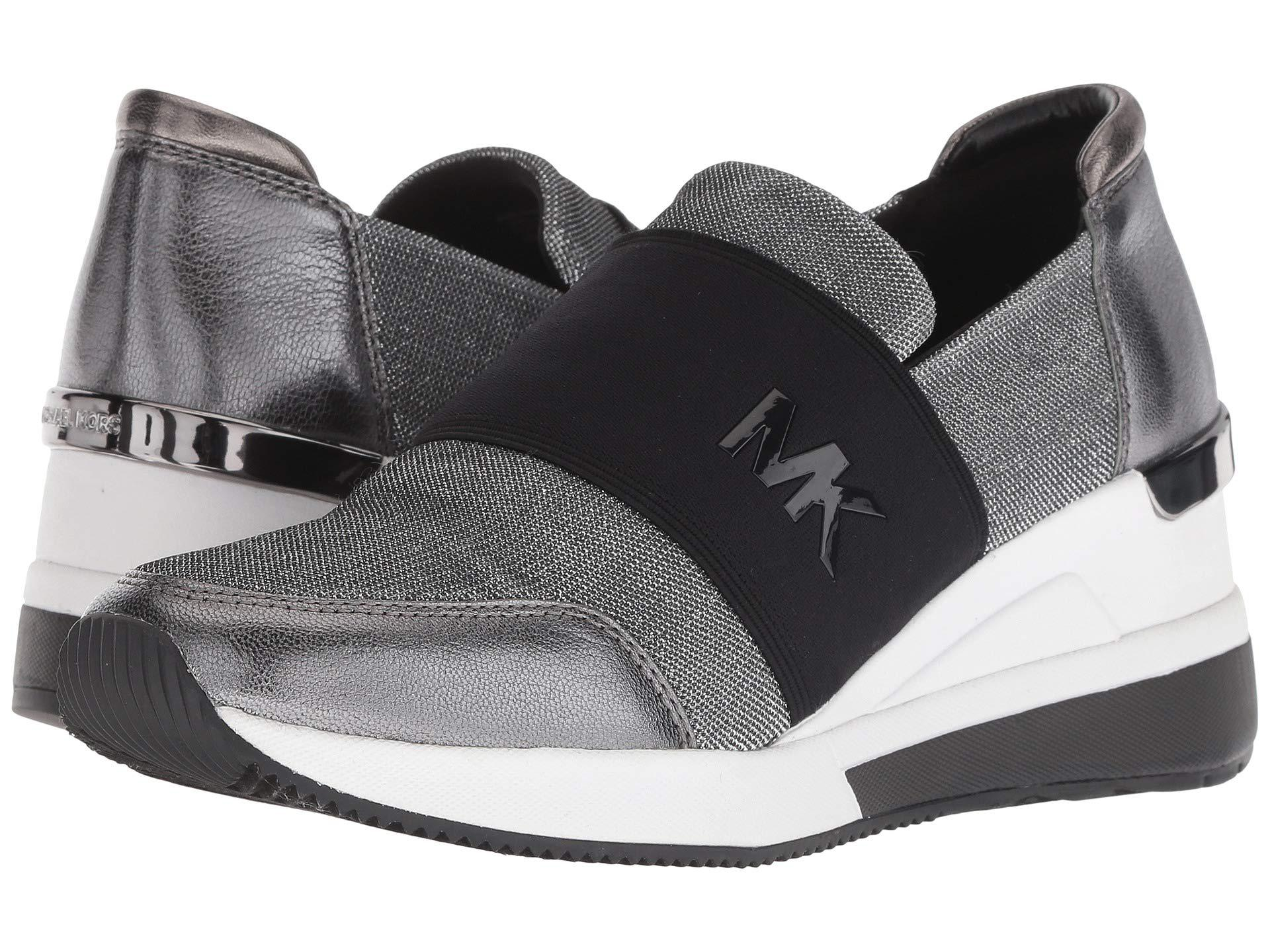 6ac1e19e7aba7 Lyst - MICHAEL Michael Kors Felix Trainer (black) Women s Shoes in Black