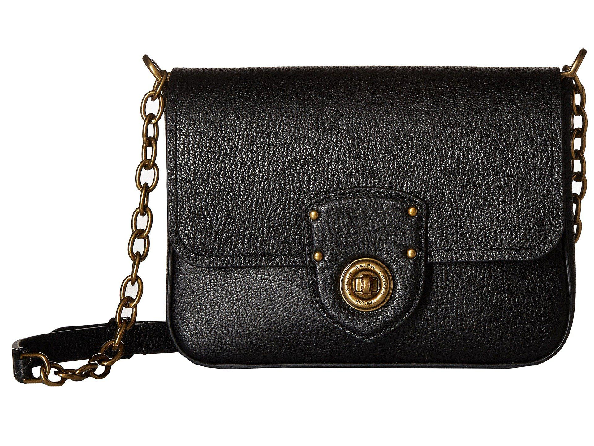4f4c480ead Lyst - Lauren by Ralph Lauren Millbrook Chain Crossbody Small ...