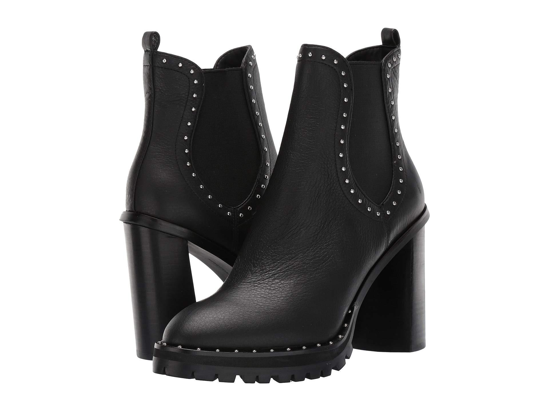 3133dc621bf Lyst - Rebecca Minkoff Edolie (black Leather) Women s Boots in Black