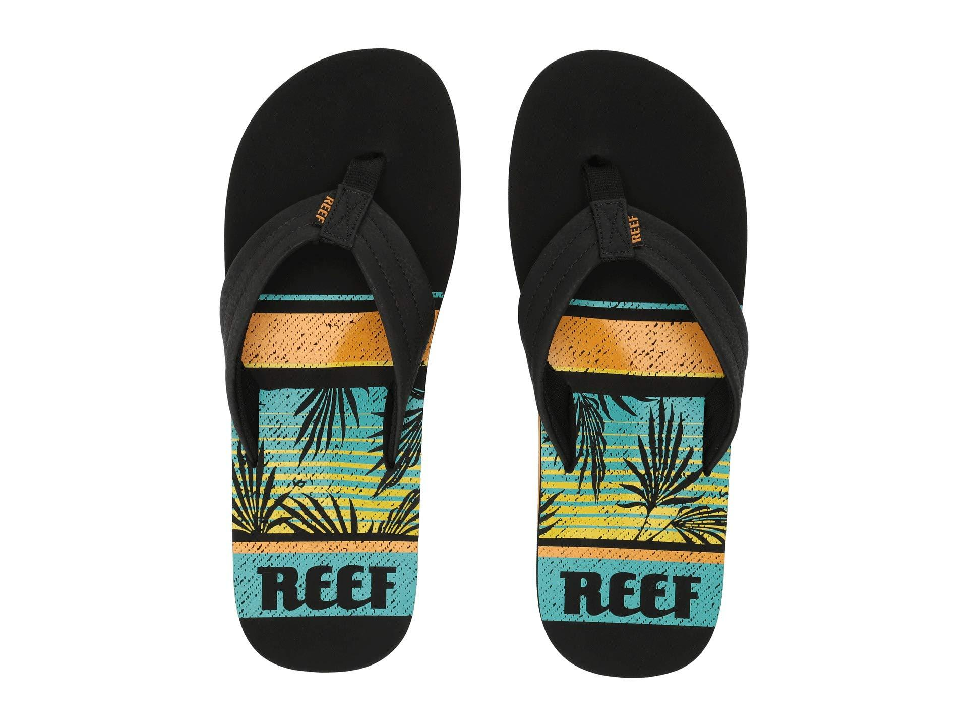 1a827700a100 Lyst - Reef Waters Flip Flops   Sandals (shoes) in Black for Men