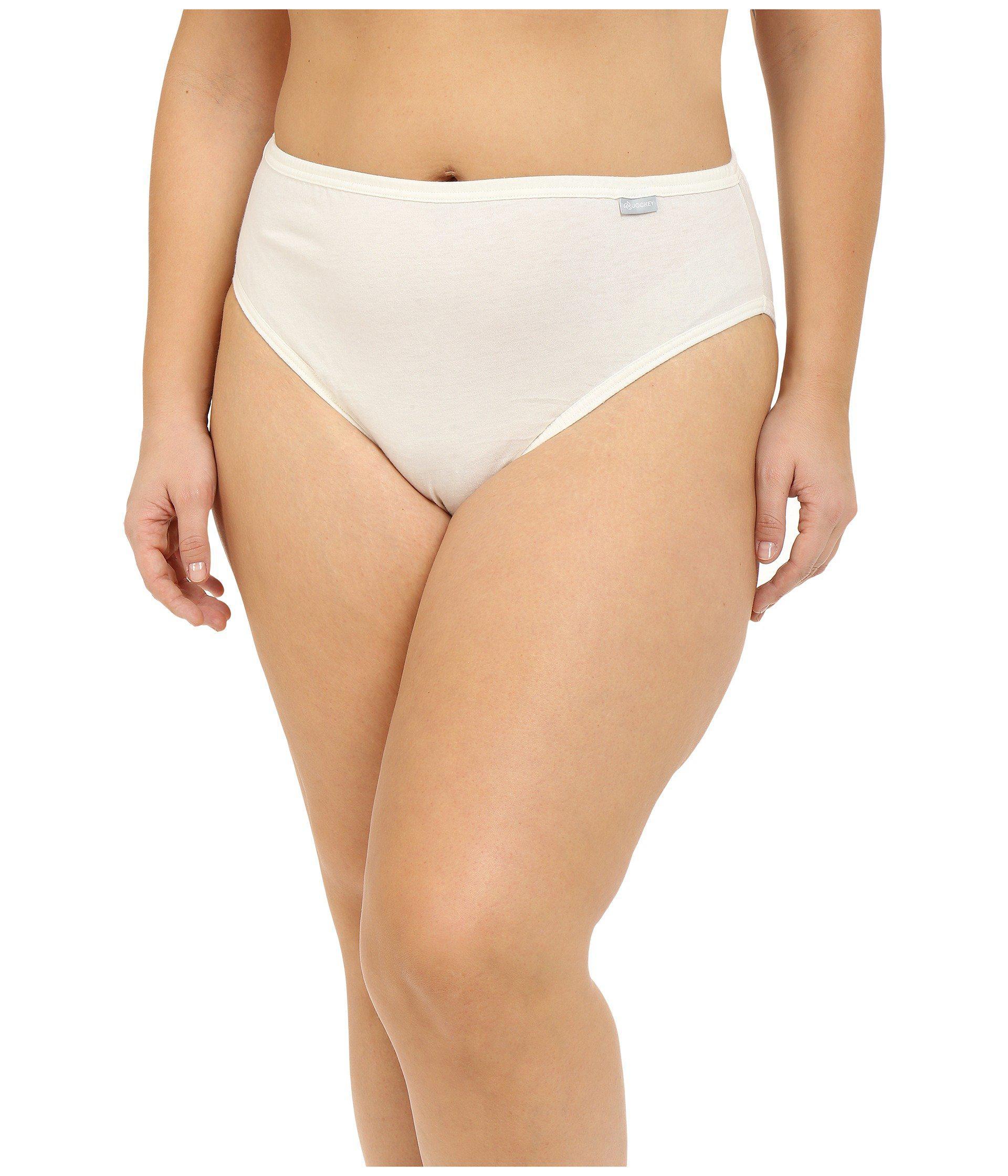 5861bfbc002 Jockey Womens Underwear Plus Size Elance Bikini - 3 Pack Christmas gift  ideas 2018
