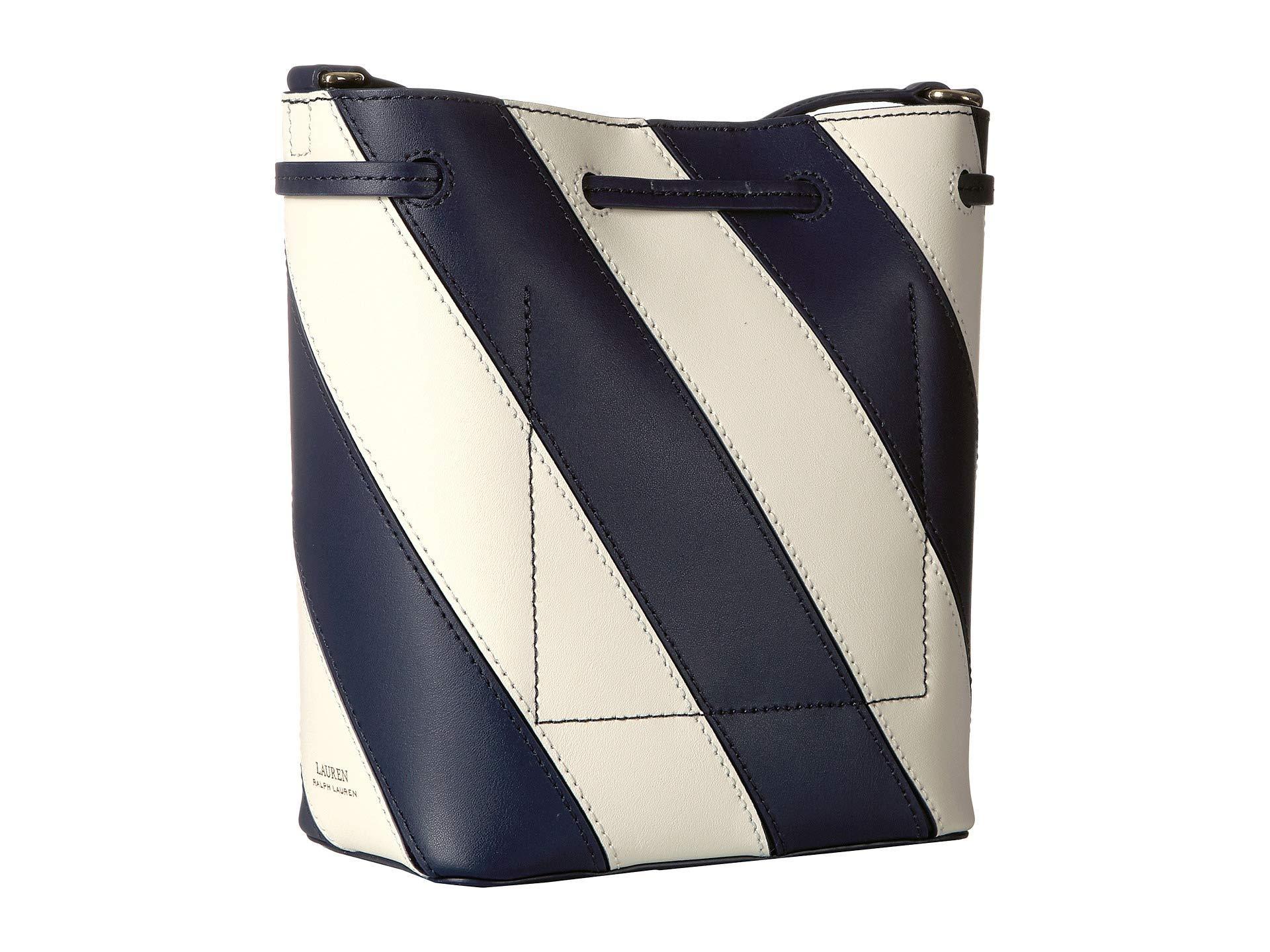 Lyst - Lauren by Ralph Lauren Diagonal Stripe Debby Ii Drawstring ... b24baf270a039