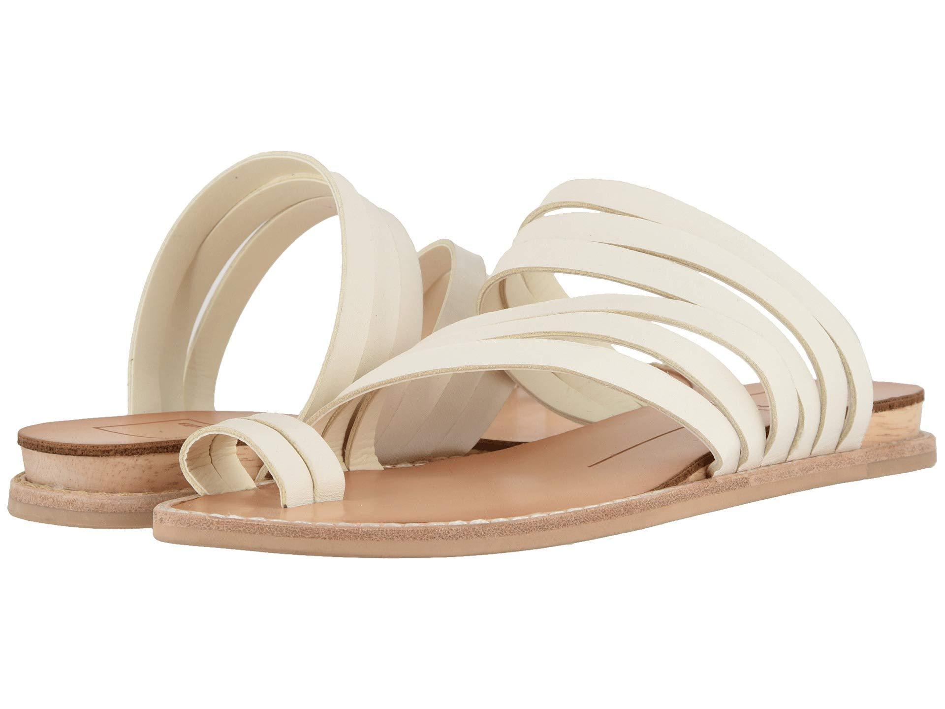 e041091f2eea5 Lyst - Dolce Vita Nelly (tan Multi Leather) Women s Sandals in White