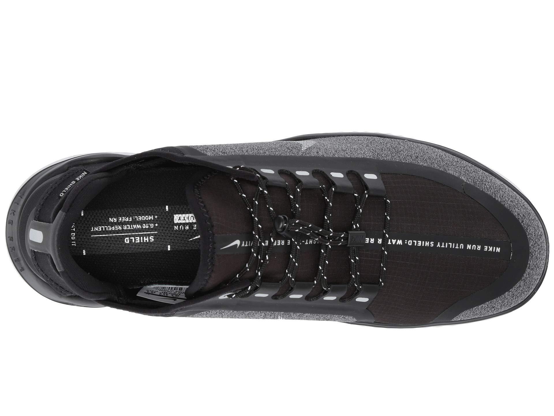 Nike Black Free Rn 2018 Shield Training Shoes for men