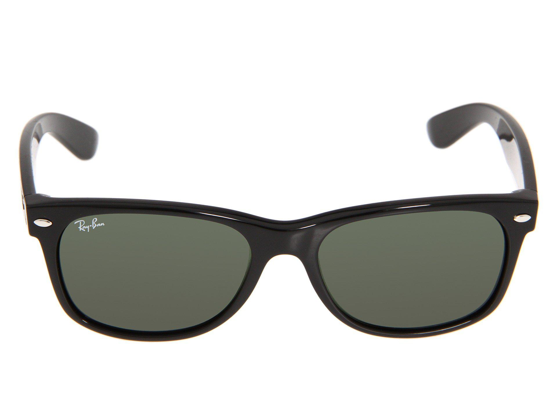 3c8c10a4c0 Lyst - Ray-Ban Rb2132 New Wayfarer 55mm (black g-15 Xlt Lens ...