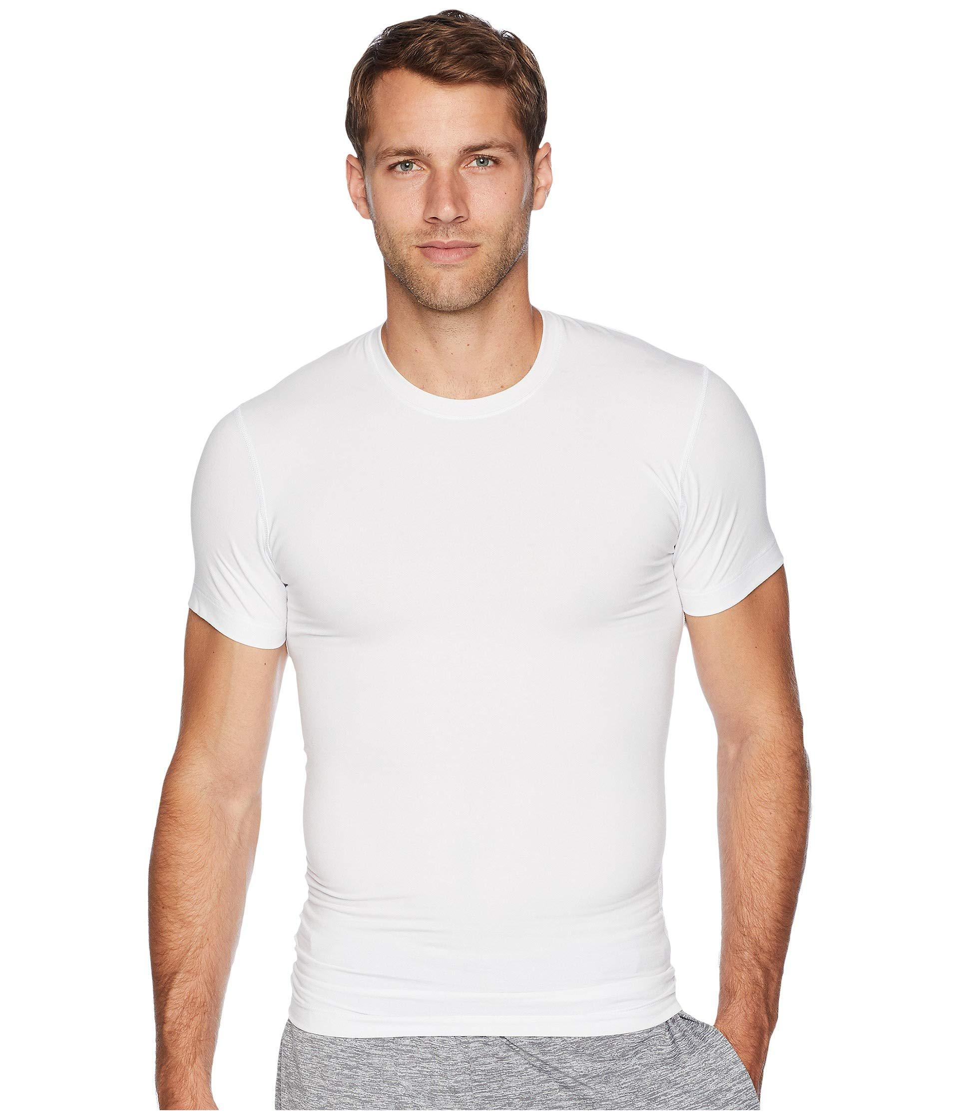 0e7a06f3cdd472 Lyst - 2xist 2(x)ist Form Crew Neck Tee (white) Men s T Shirt in ...