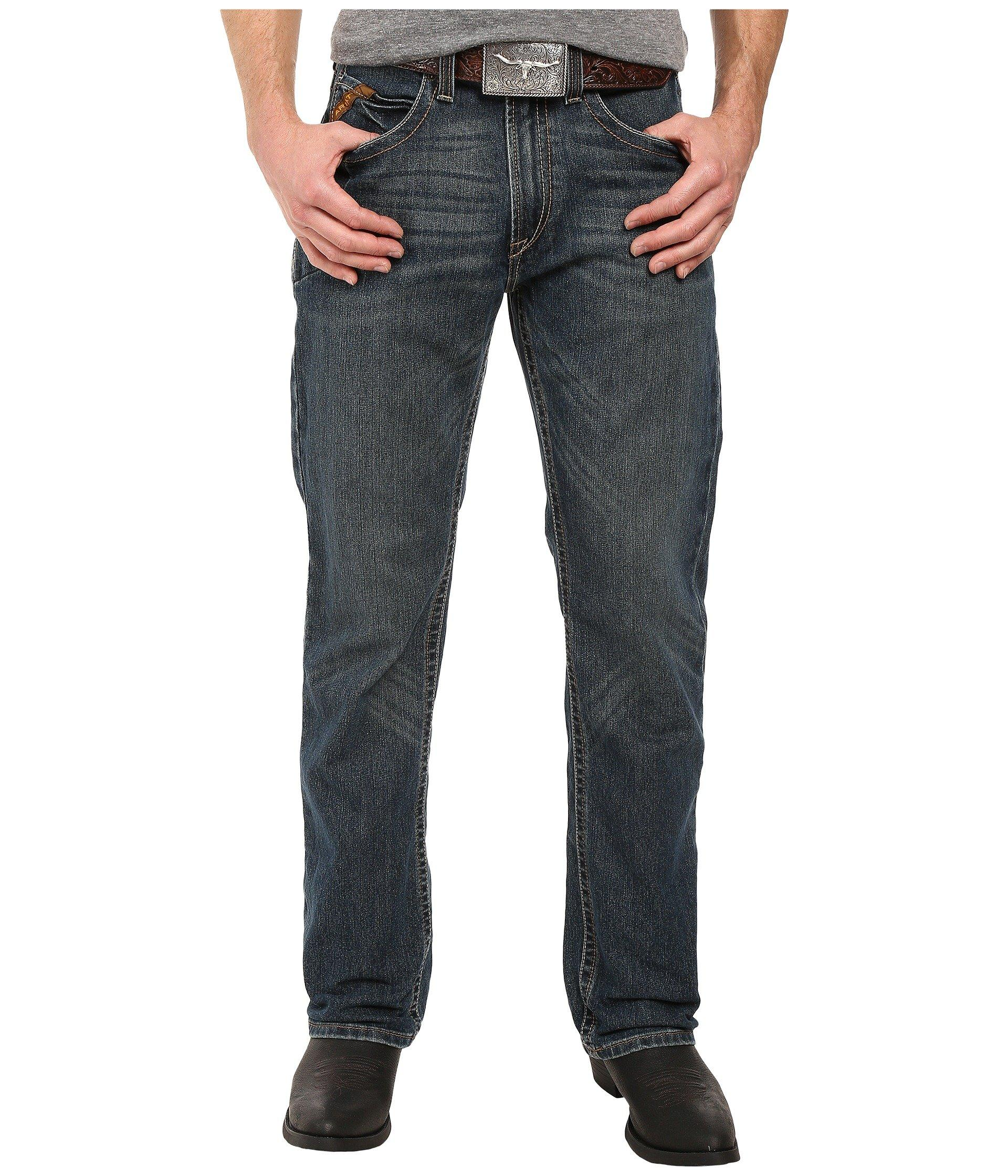 122abc64 Lyst - Ariat Rebar M5 Slim Straight Leg Jeans In Ironside (ironside ...