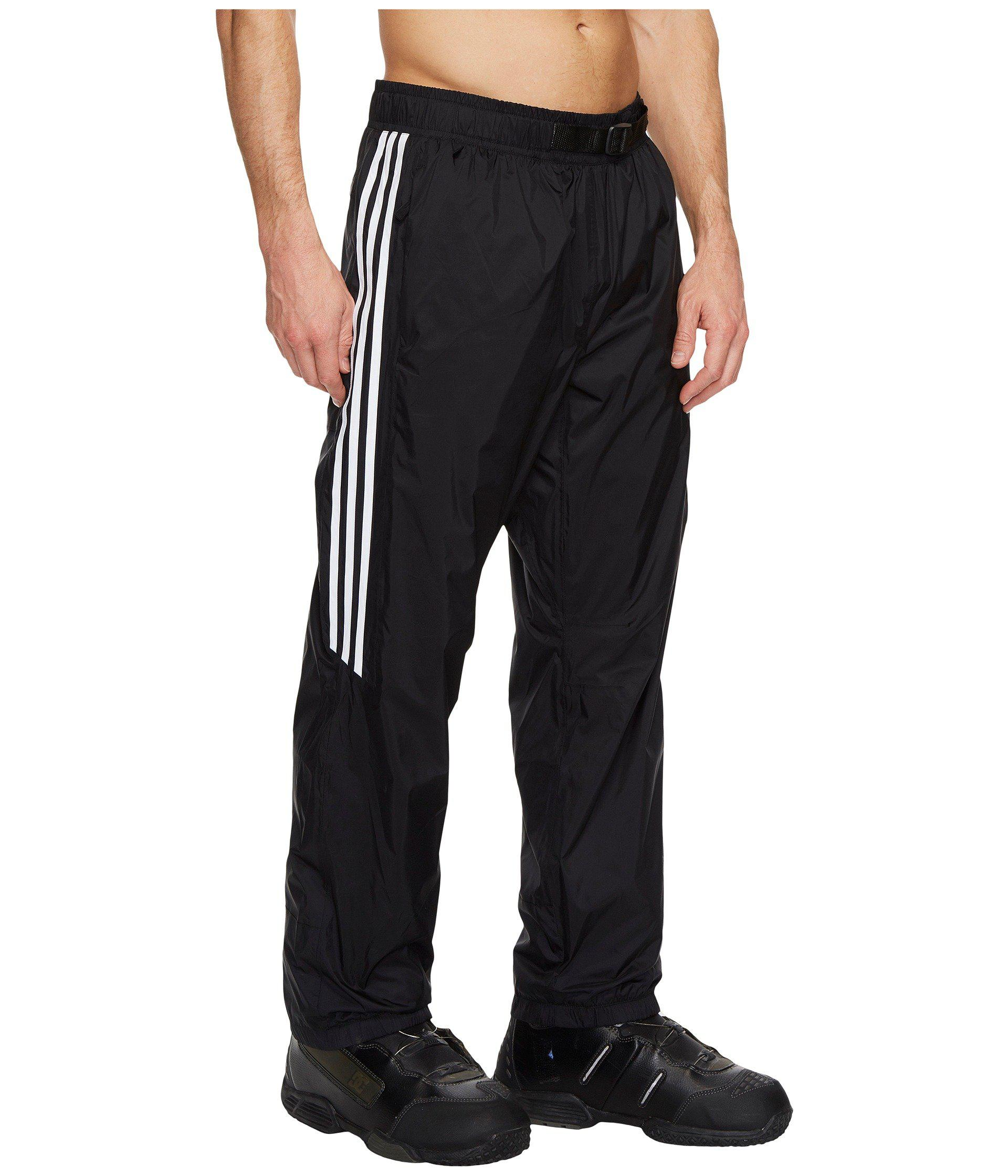 adidas Originals Synthetic Slopetrotter Pants in BlackWhite