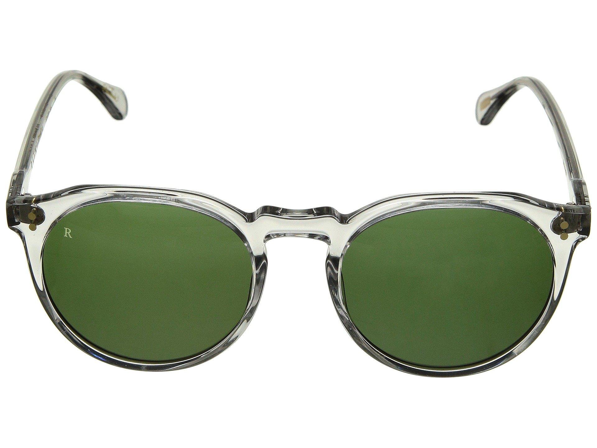 4506ce4307a Lyst - Raen Remmy 52 (black tan Brown) Fashion Sunglasses in Green