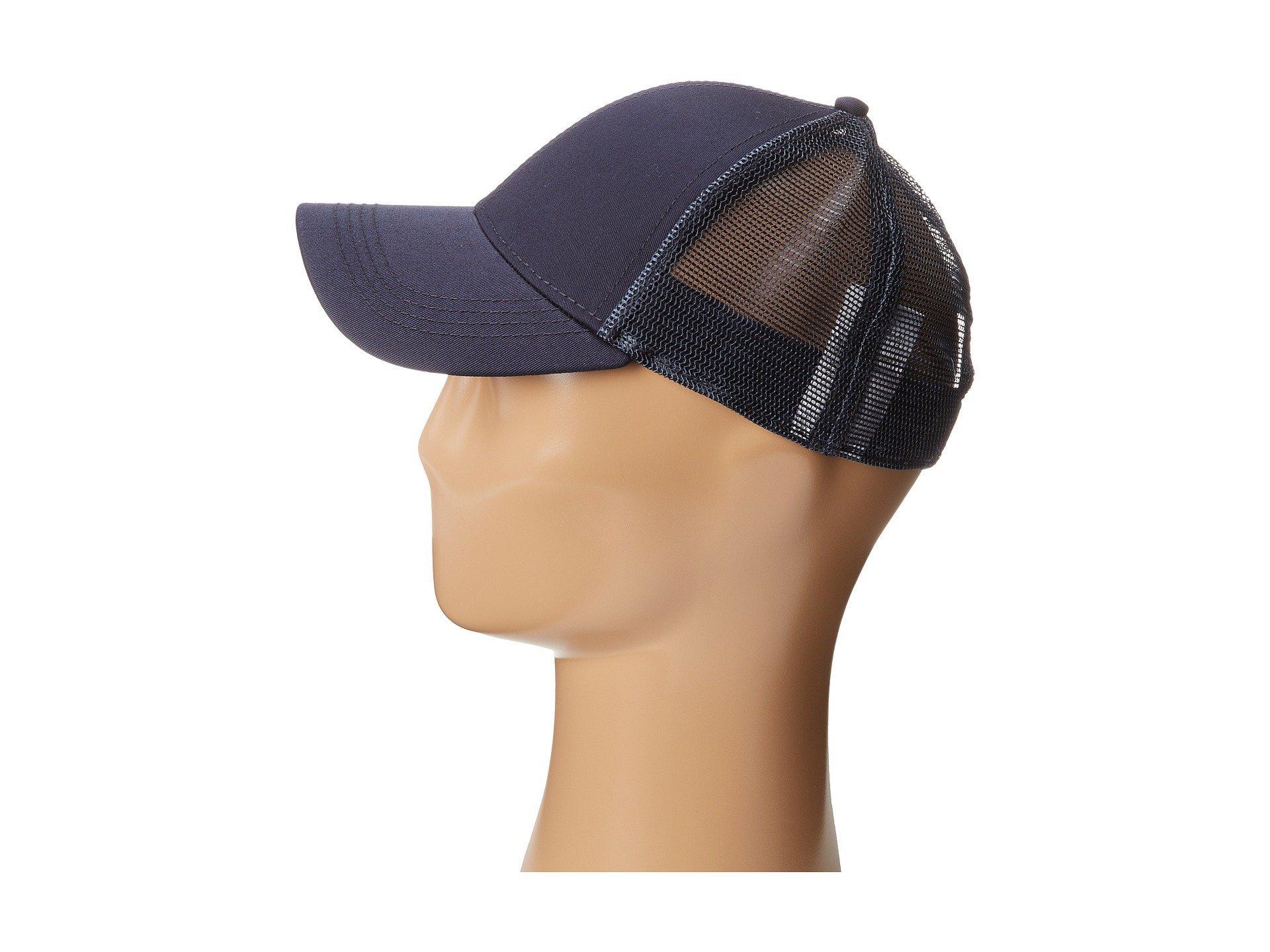 c43e99d0673 Lacoste - Blue Classic 5Cm Croc Trucker Hat for Men - Lyst. View fullscreen
