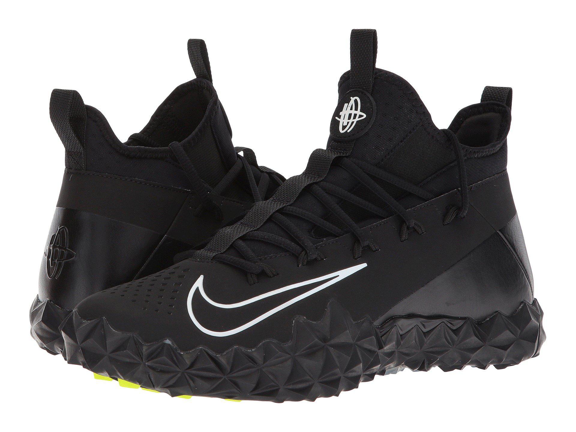 308c95ce294d Lyst - Nike Alpha Huarache 6 Elt Turf Lax in Black for Men