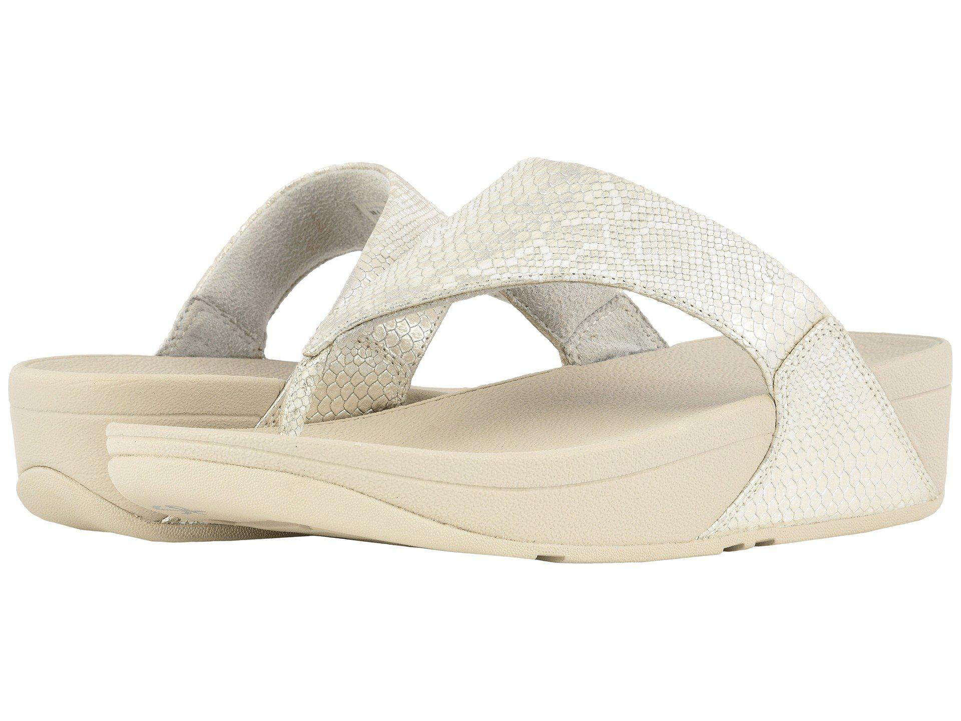 FitFlop Lulu Python Print Sandals r1yEFQ