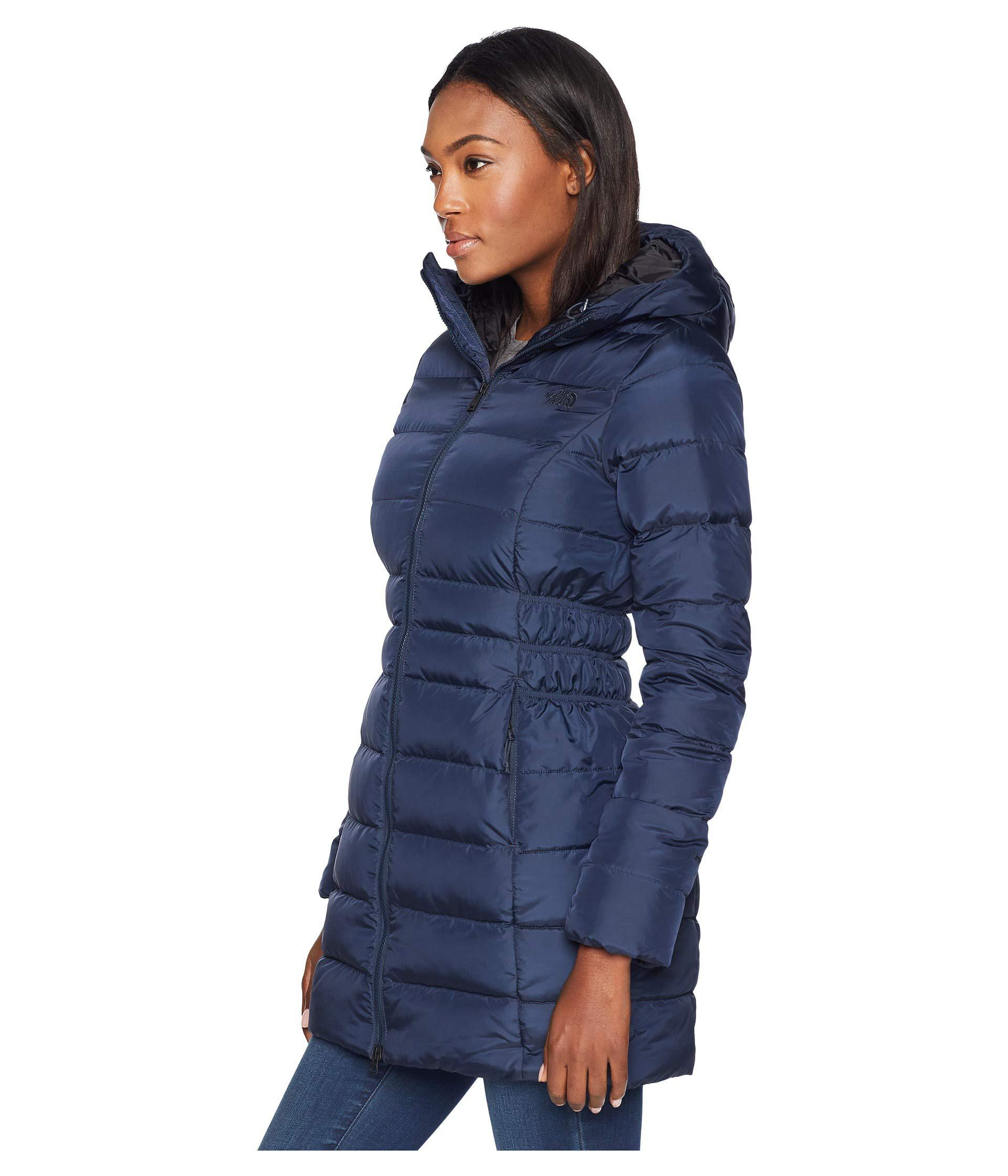 ec4351a86a Lyst - The North Face Gotham Parka Ii (vintage White) Women s Coat in Blue  - Save 31%