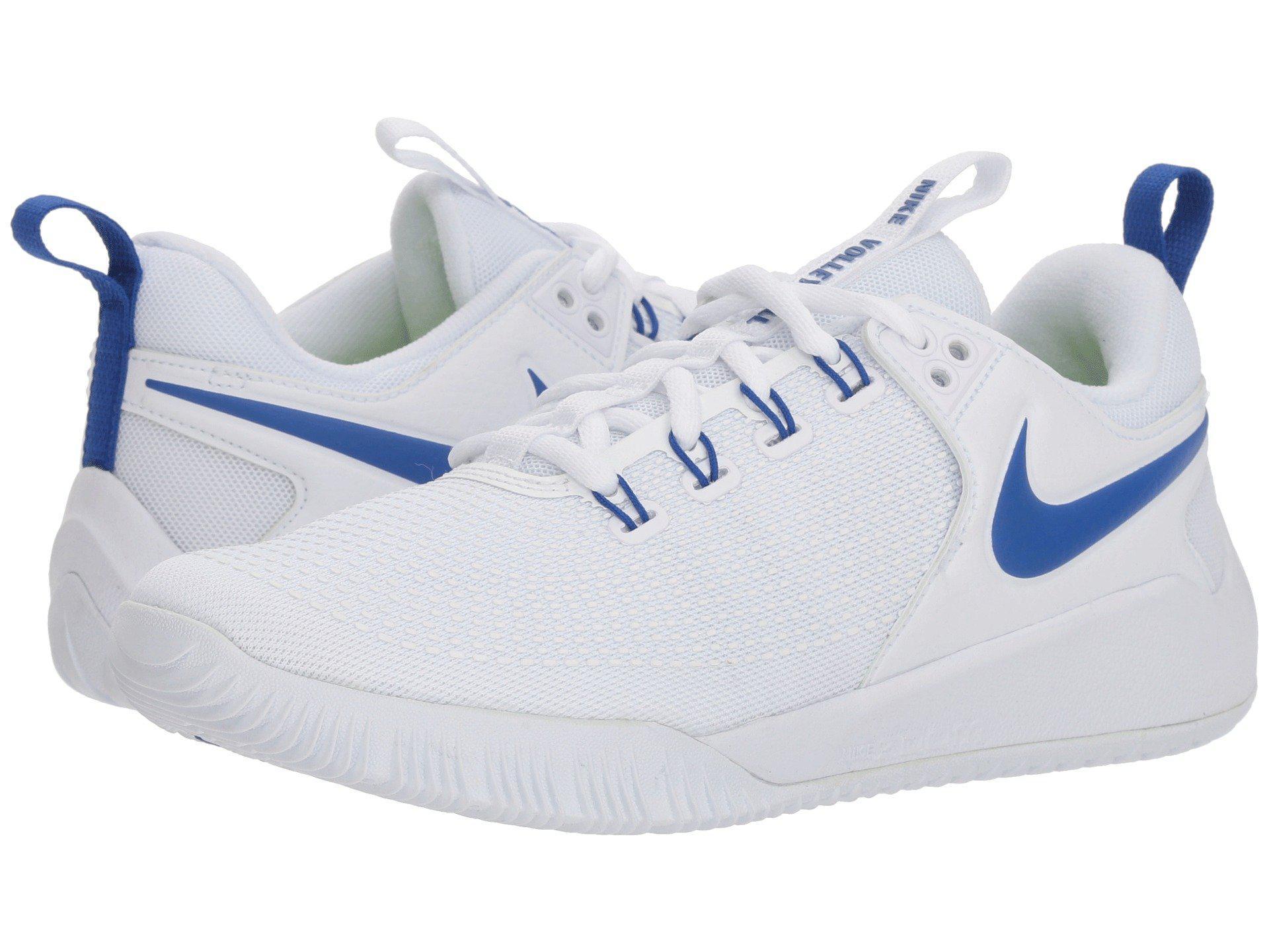 9b3304603a2359 Lyst - Nike Zoom Hyperace 2 (white black) Women s Cross Training ...
