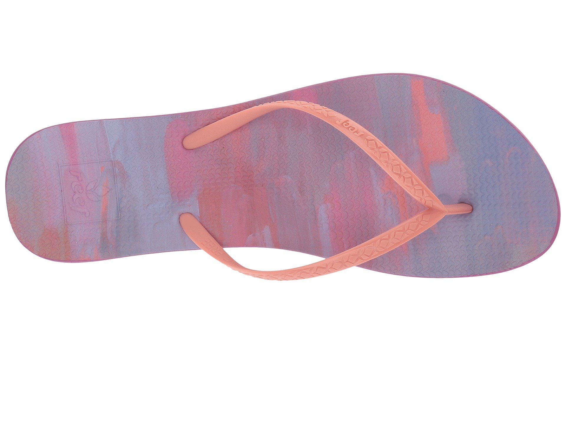 a37402116d47 Lyst - Reef Escape Lux Paint (purple Paint) Women s Sandals in Purple