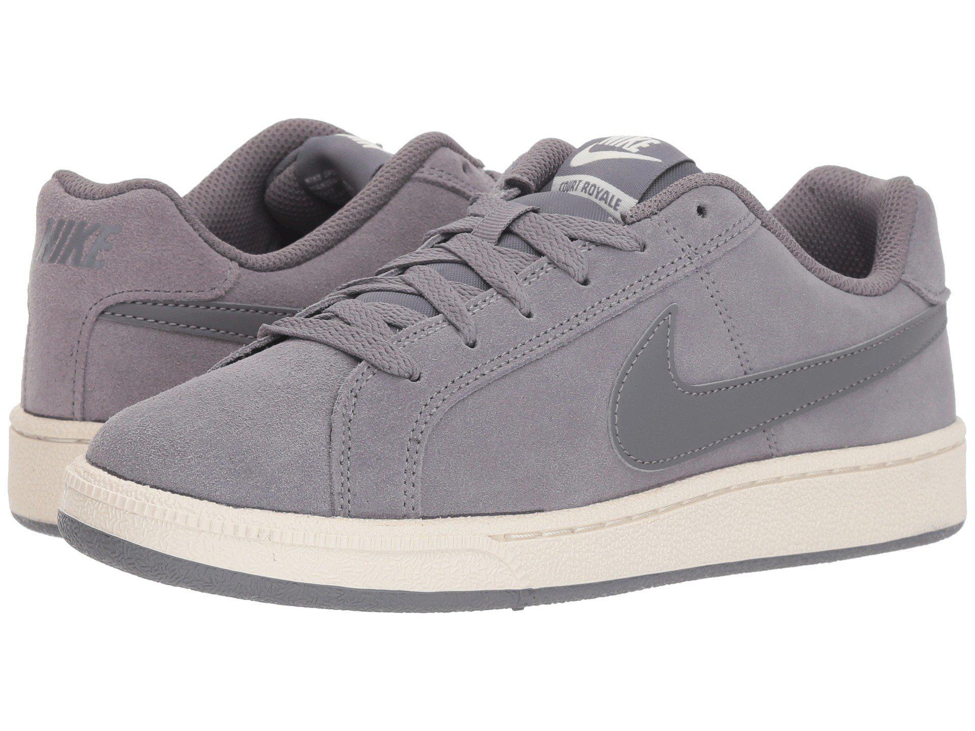 Lyst - Nike Court Royale Suede (black black thunder Grey) Women s ... a79f3645c