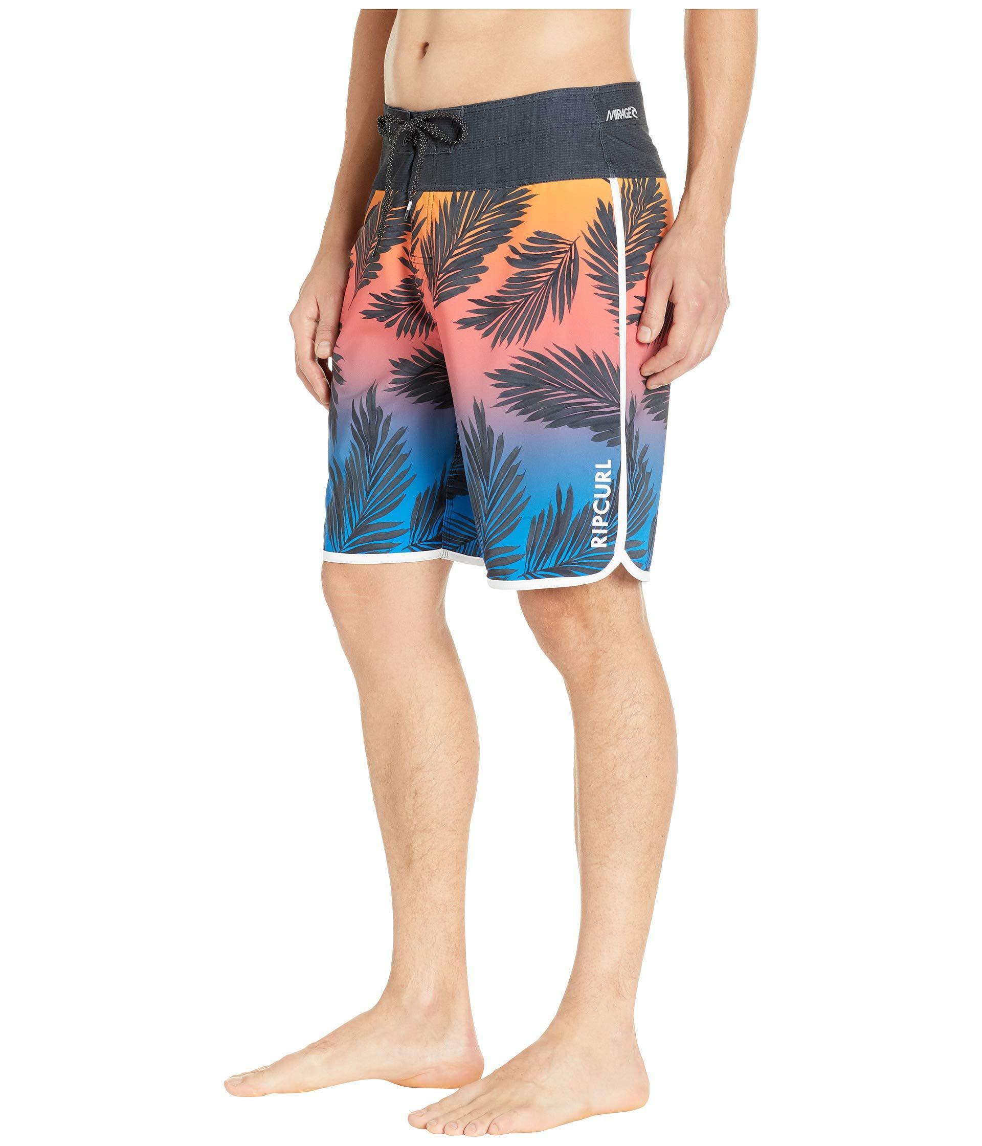 ecc6c4d9f5b Lyst - Rip Curl Mirage Mason Rockies Boardshorts (black/black) Men's  Swimwear in Black for Men