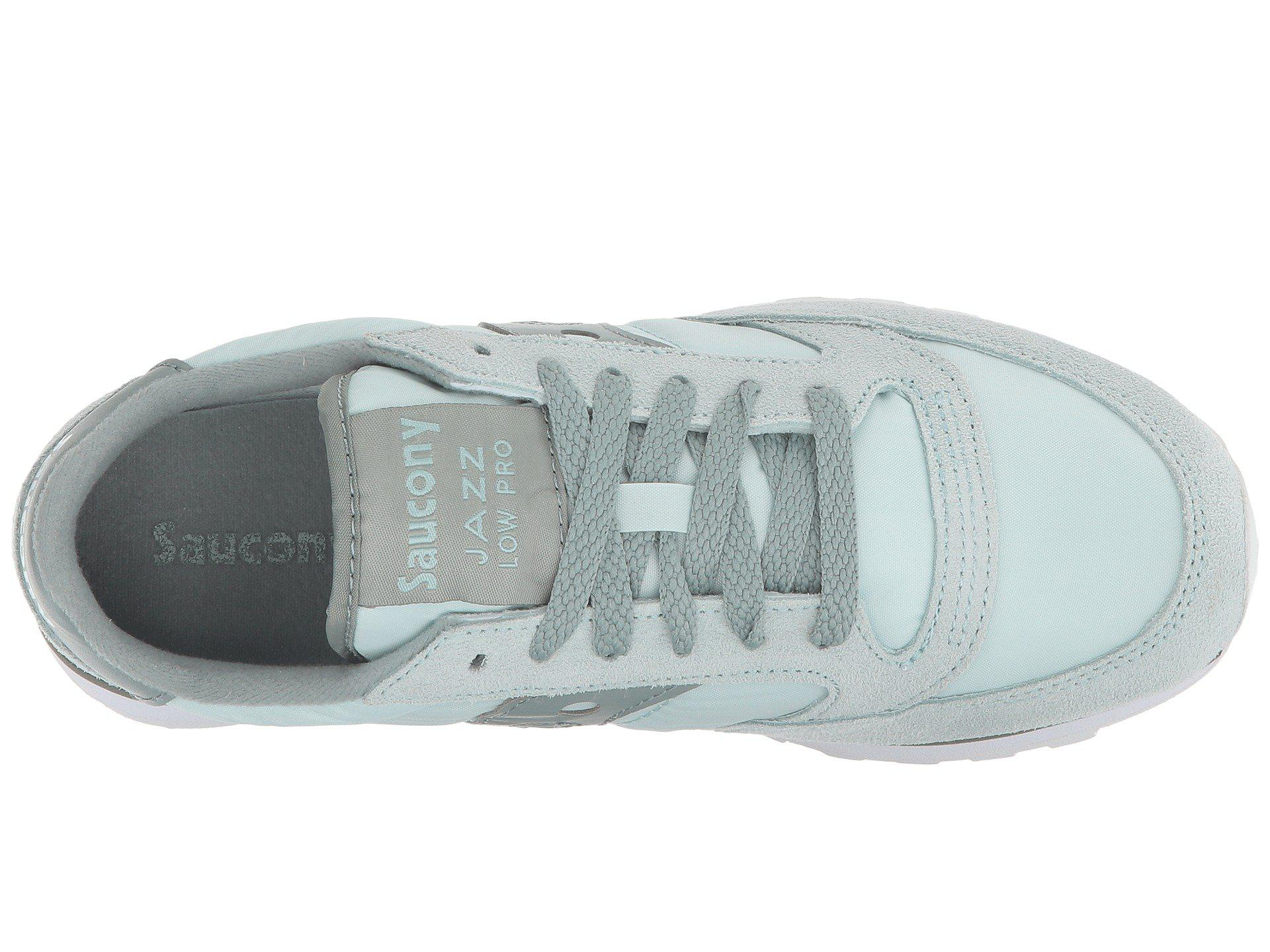timeless design 56558 13325 Saucony - Jazz Low Pro (grey blue) Women s Classic Shoes - Lyst. View  fullscreen