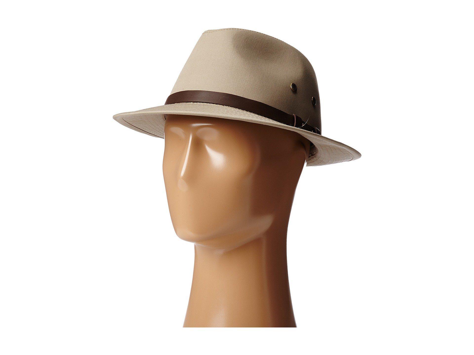 Lyst - Stetson Gable Rain Safari (khaki) Caps in Natural for Men 3c460b315a7